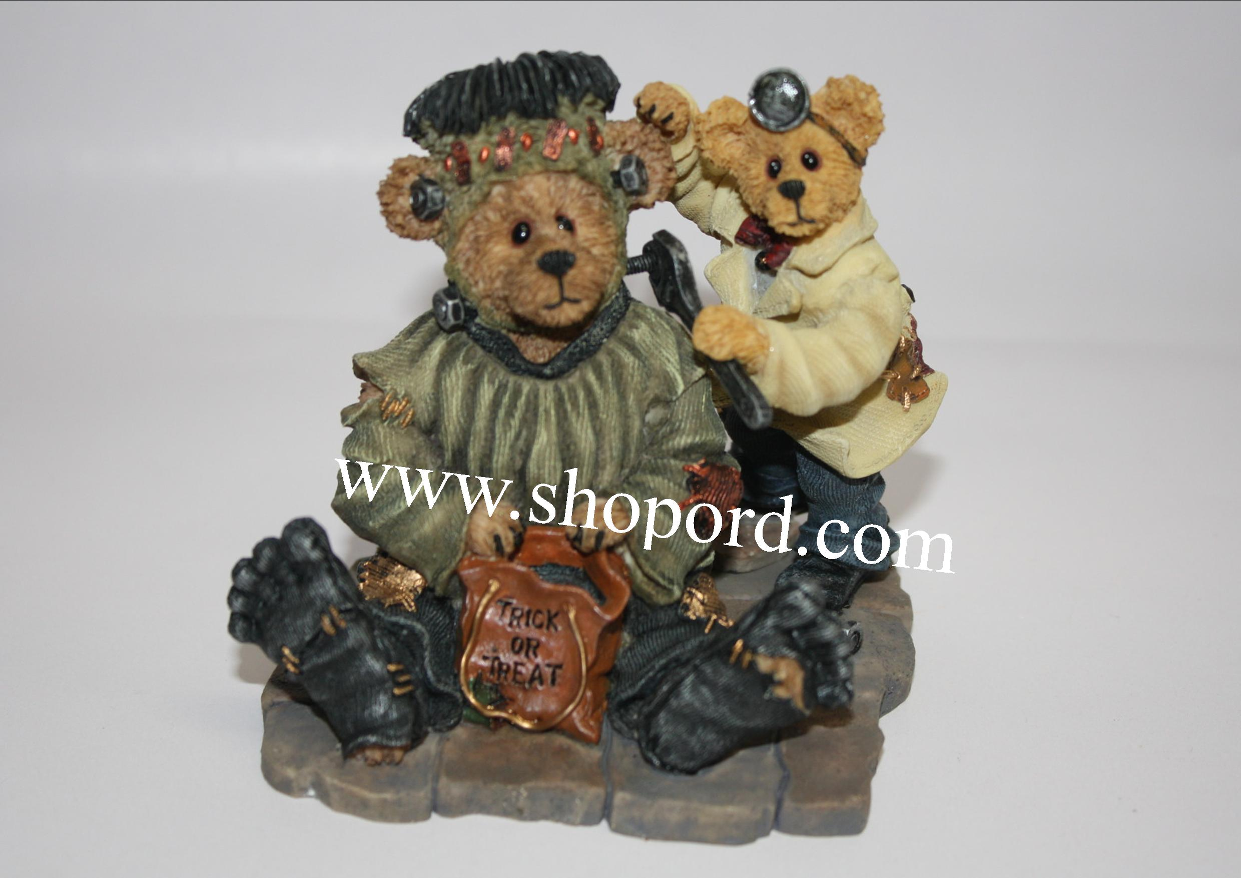 Boyds The Bearstone Collection - Frankie & Igor (Minor Adjustments) #81007