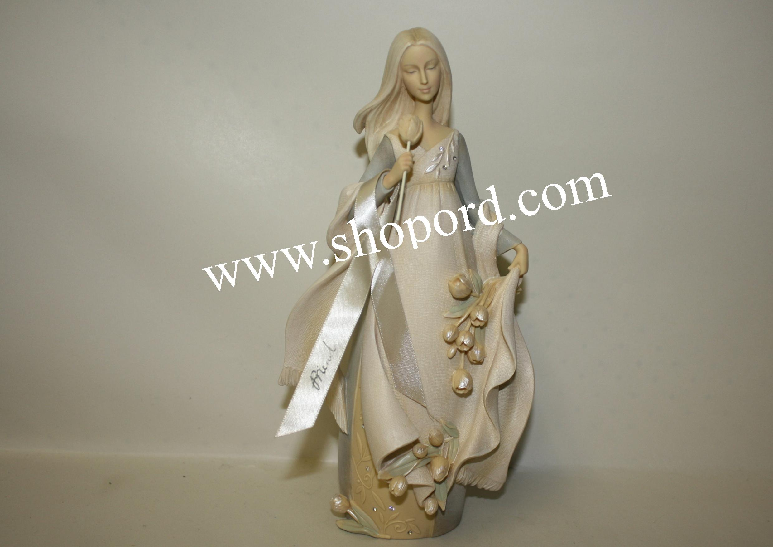 Enesco Foundation Friend Angel Figurine 4025636
