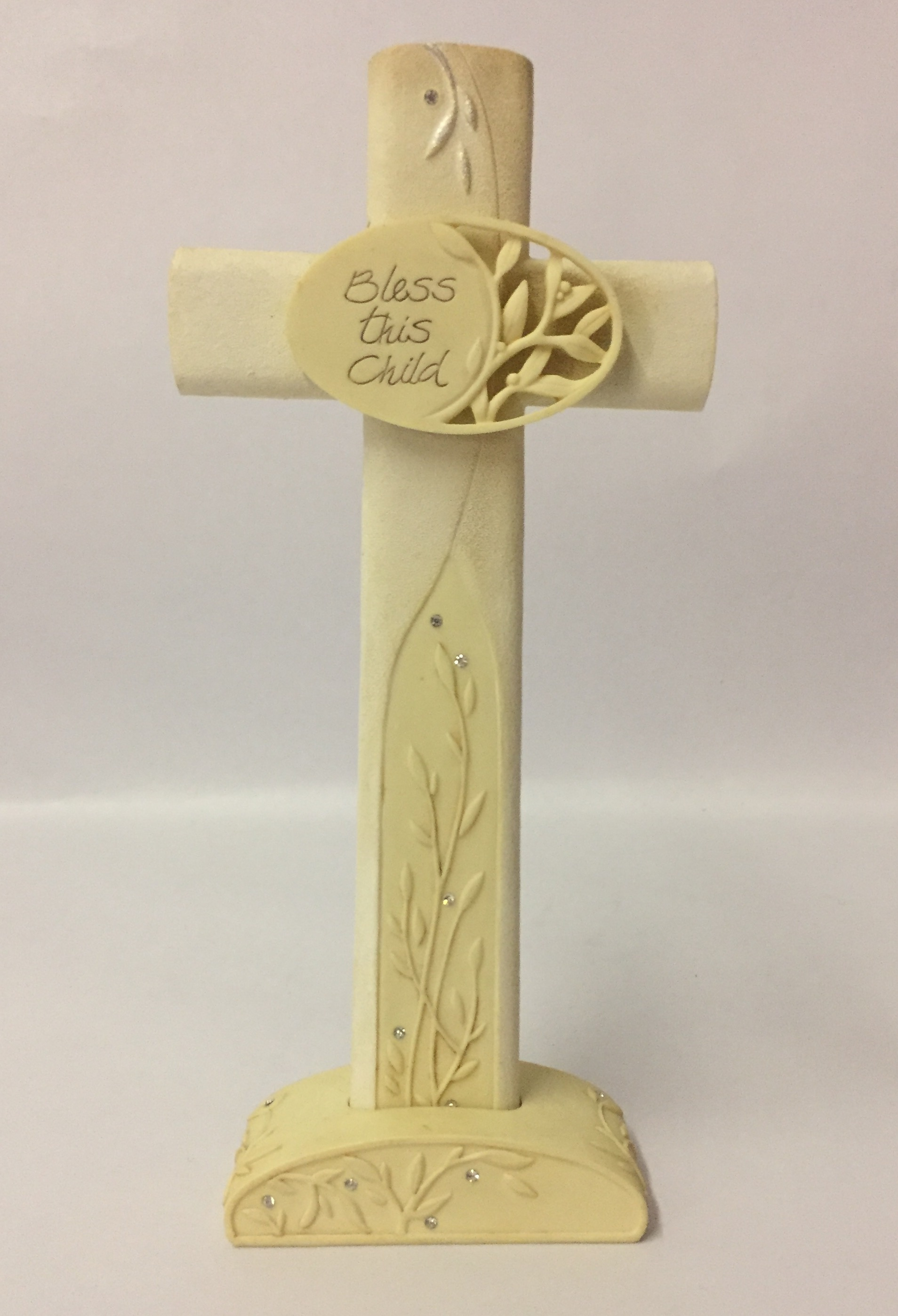 Enesco Foundations Bless this Child Cross 4015036