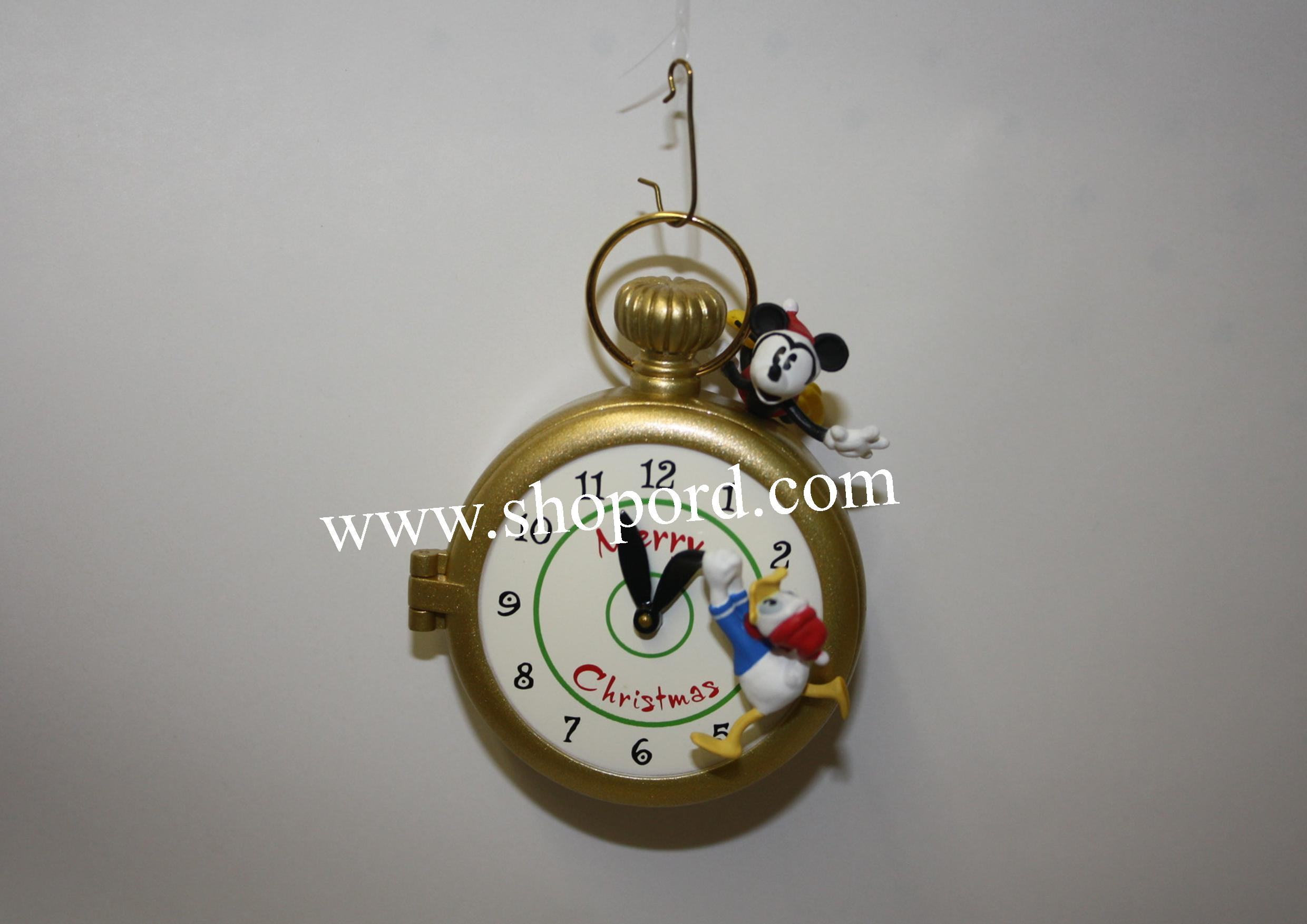 Hallmark 2002 Goffy Clockworks Disney Ornament QXD4923