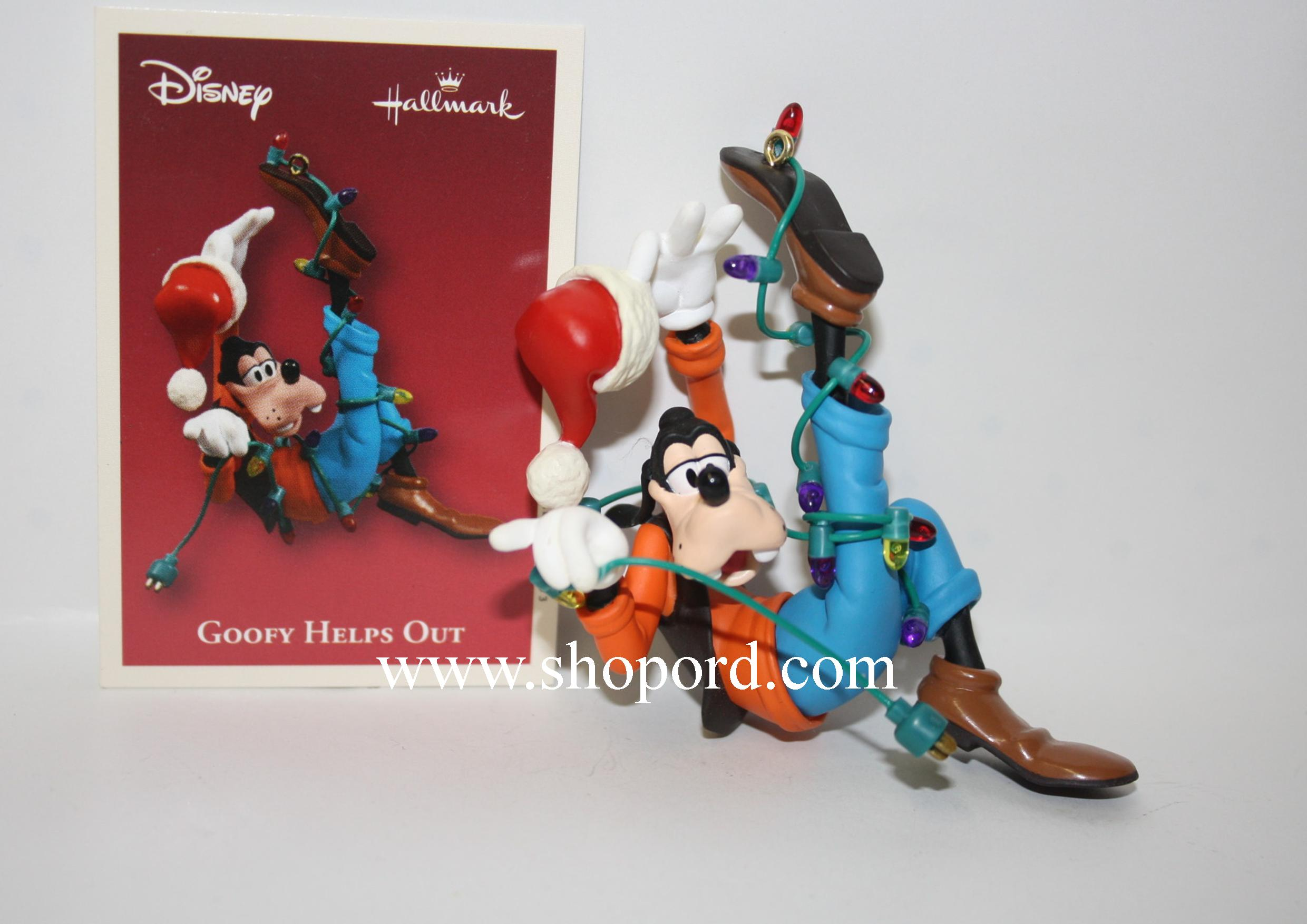 Hallmark 2003 Goofy Helps Out Disney Ornament QXD5037 Box Slightly Bent