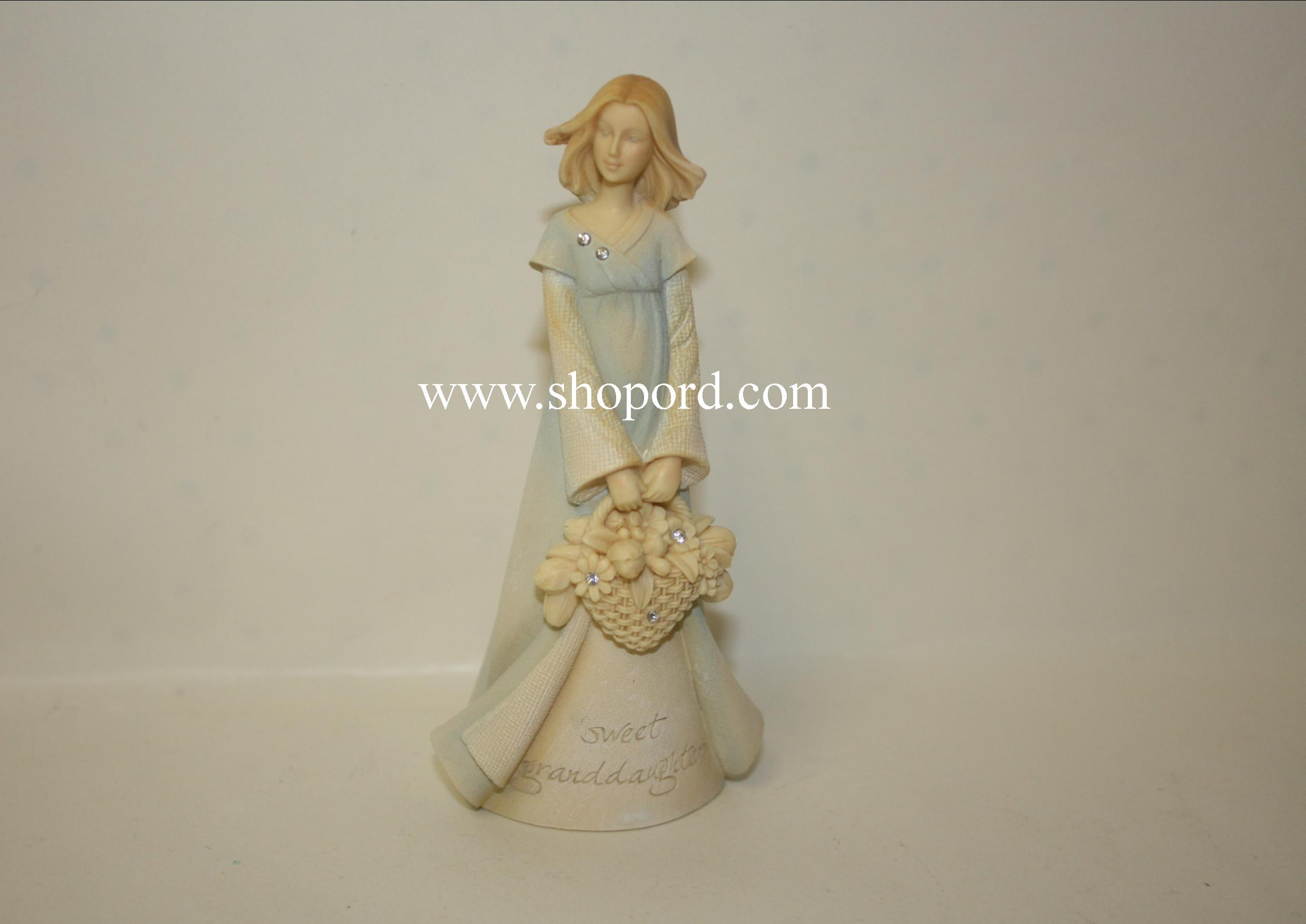 Enesco Foundation Angel Granddaughter Mini Figurine 4044752