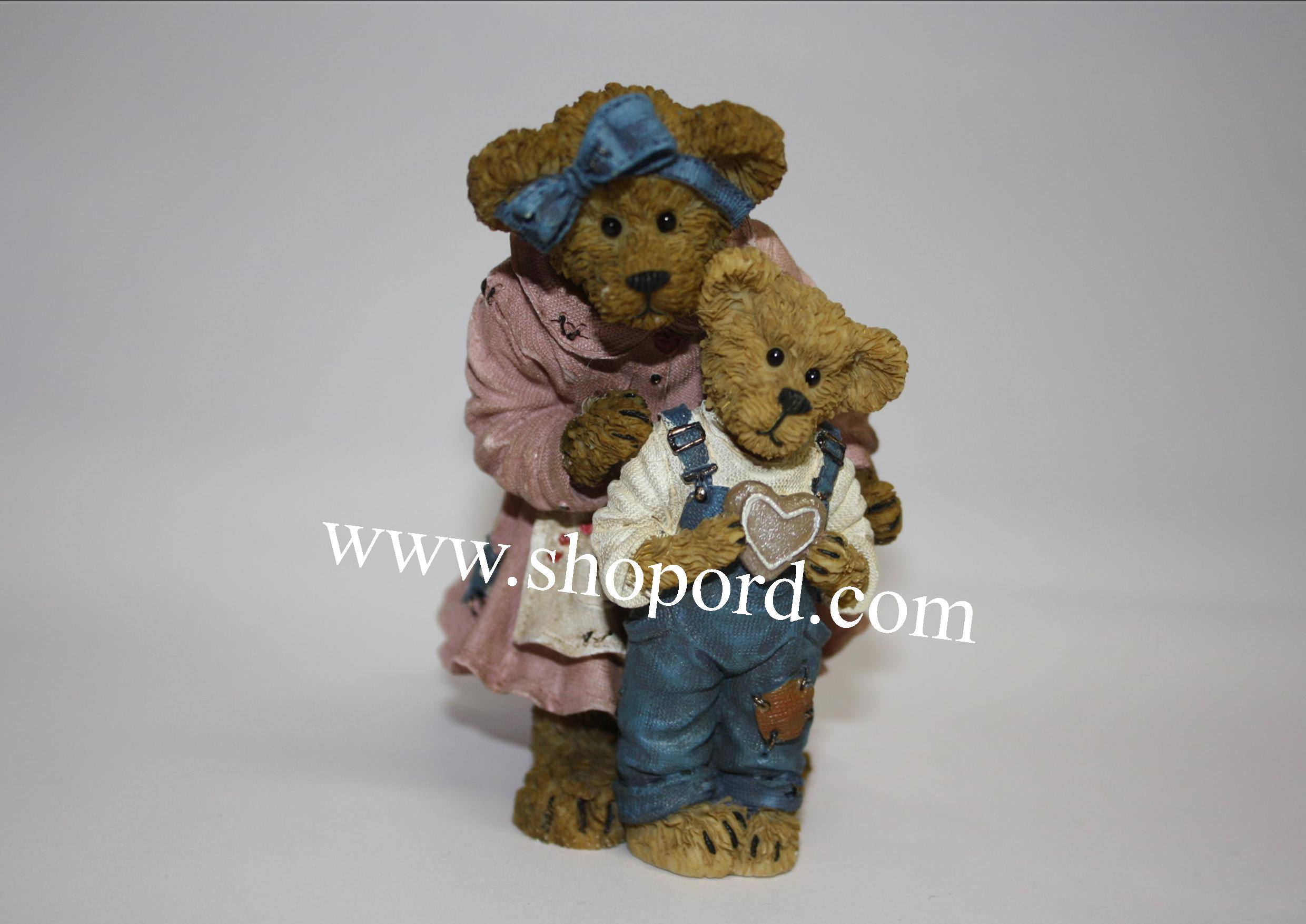 Boyds The Bearstone Collection - Grandma Bearybake with Lil Helper (Baked with Love) #4027345