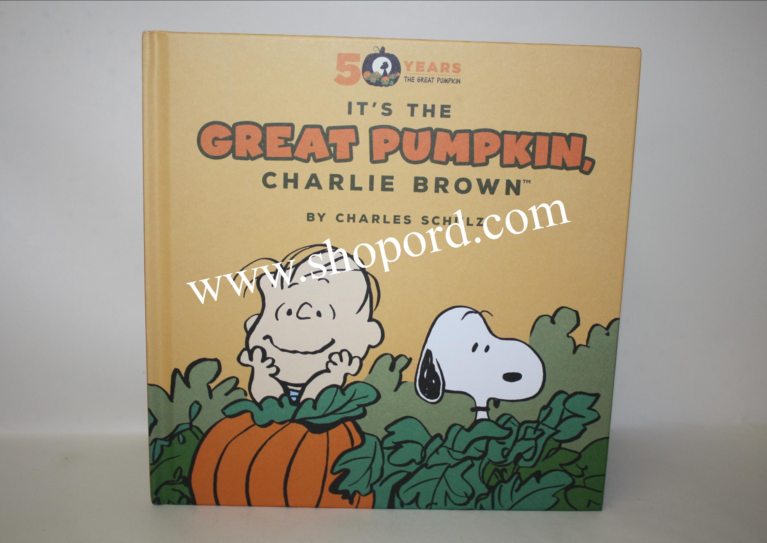 Hallmark Peanut Great Pumpkin Charlie Brown Hardcover Book 50th Anniversary HGN1215