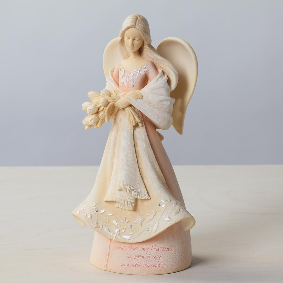 Enesco Foundations Guardian of Patience Angel Figurine 4026909
