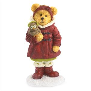 Boyds Heidi Goodfriend with Hoo Warm Wishes Figurine 4041882