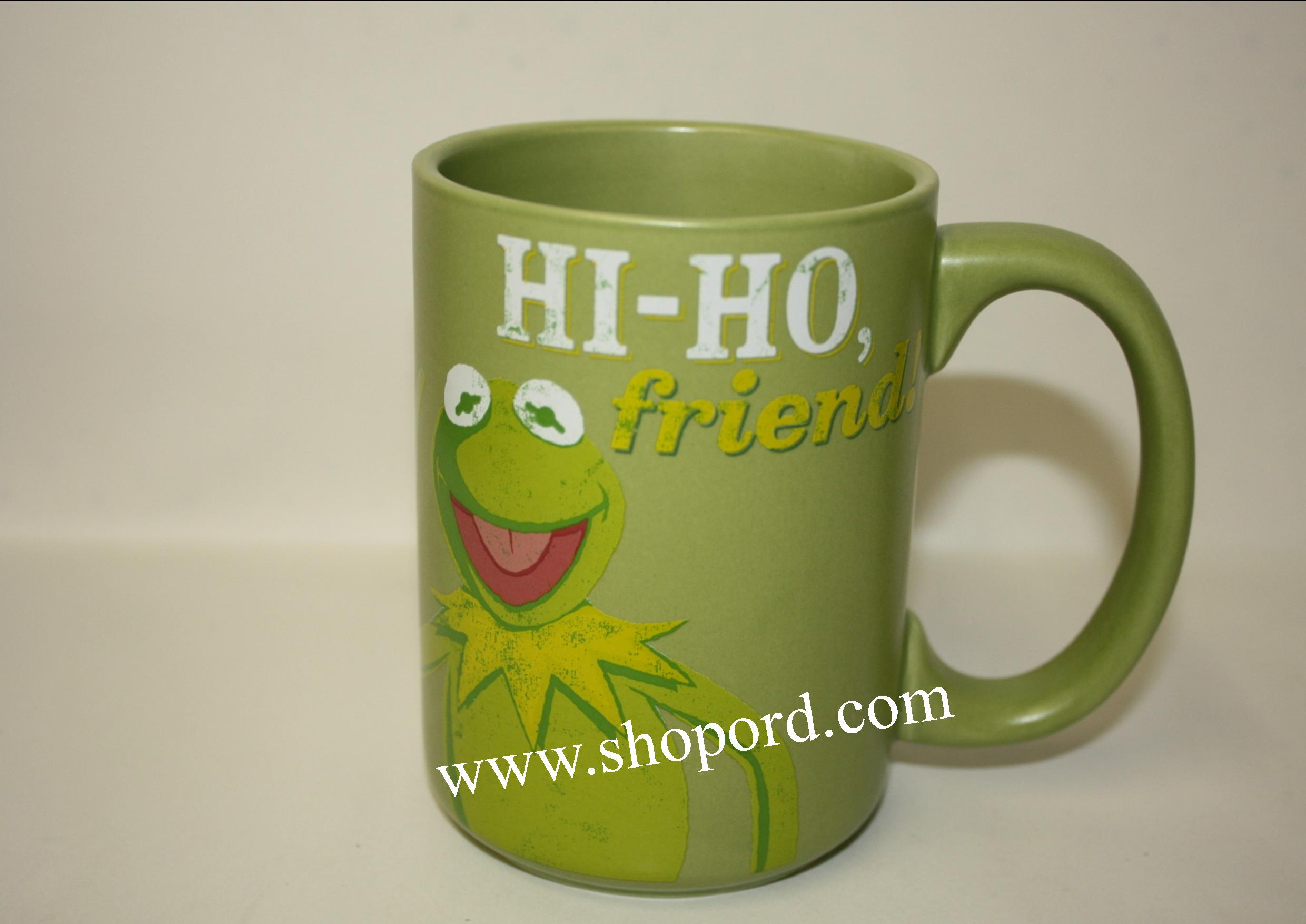 Hallmark Hi Ho Friend Kermit The Frog Muppets 12 oz Mug MUP5036