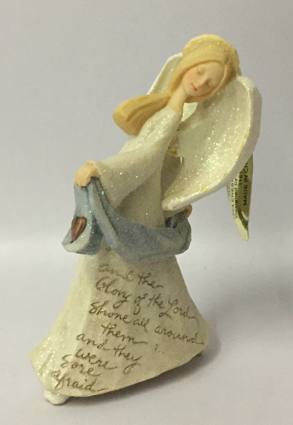 Enesco Foundations Angel Dancing Ornament