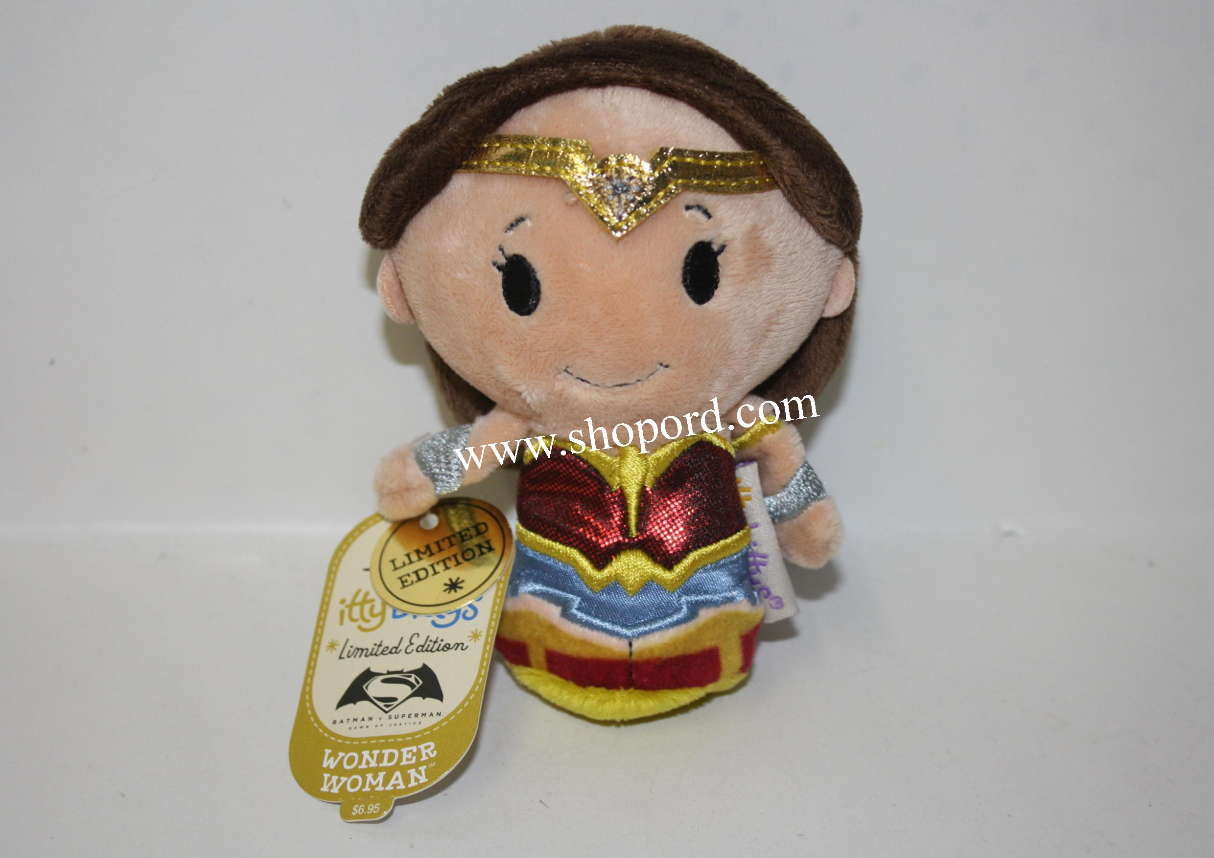 Hallmark itty bittys Wonder Woman Plush Limited Edition KID1046