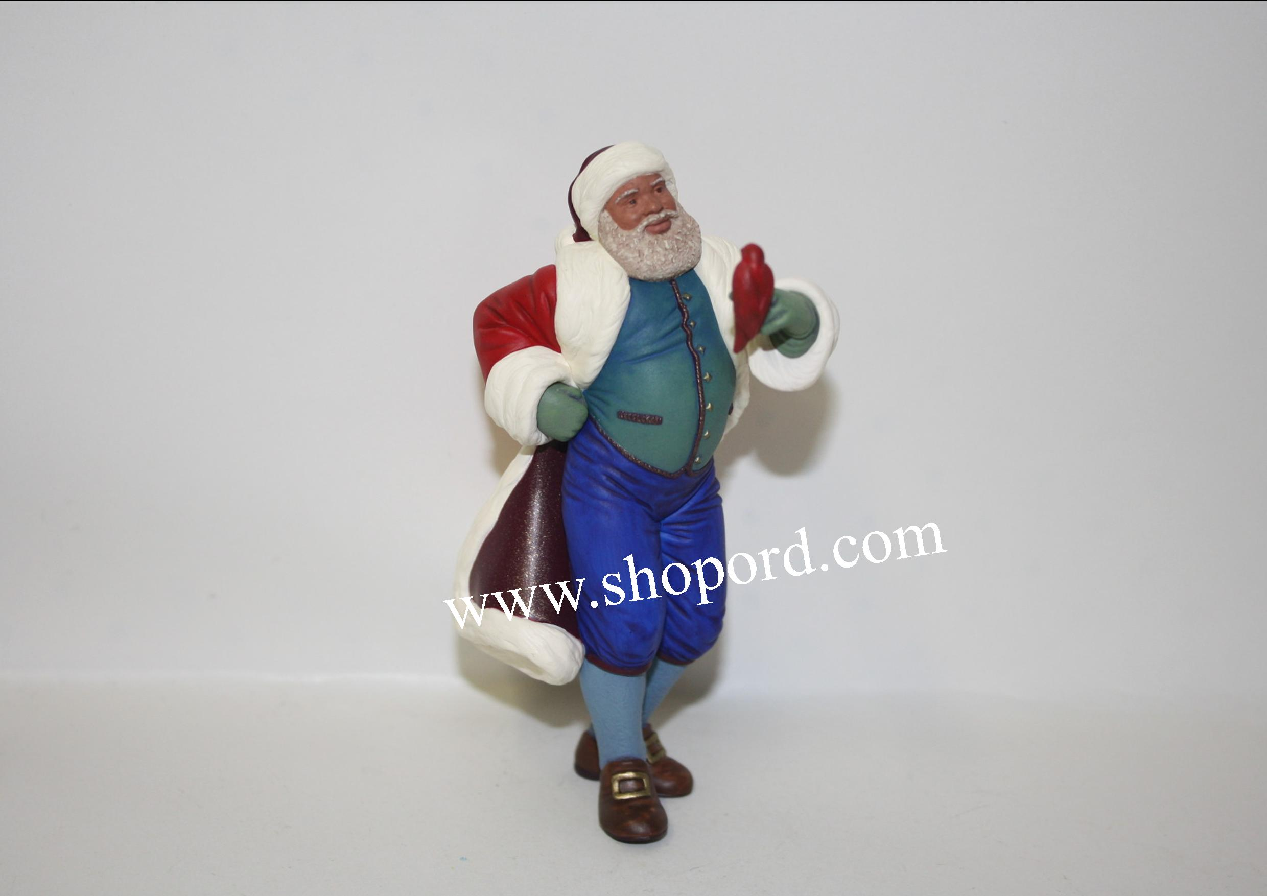 Hallmark 2000 Joyful Santa Ornament 2nd In The Series QX6784