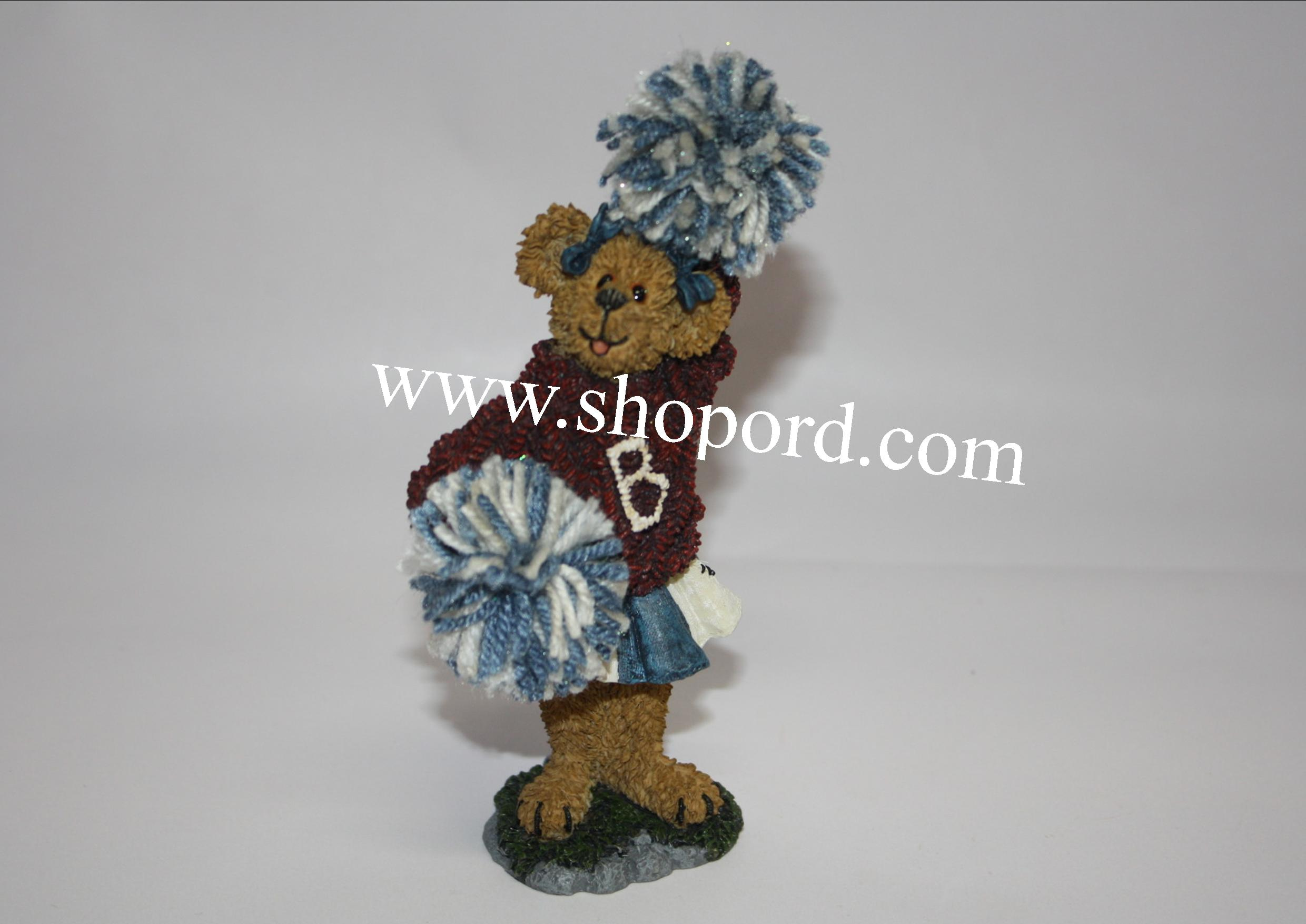 Boyds The Bearstone Collection - Kimberly Cheerenshout (Got Spirit?) #228355