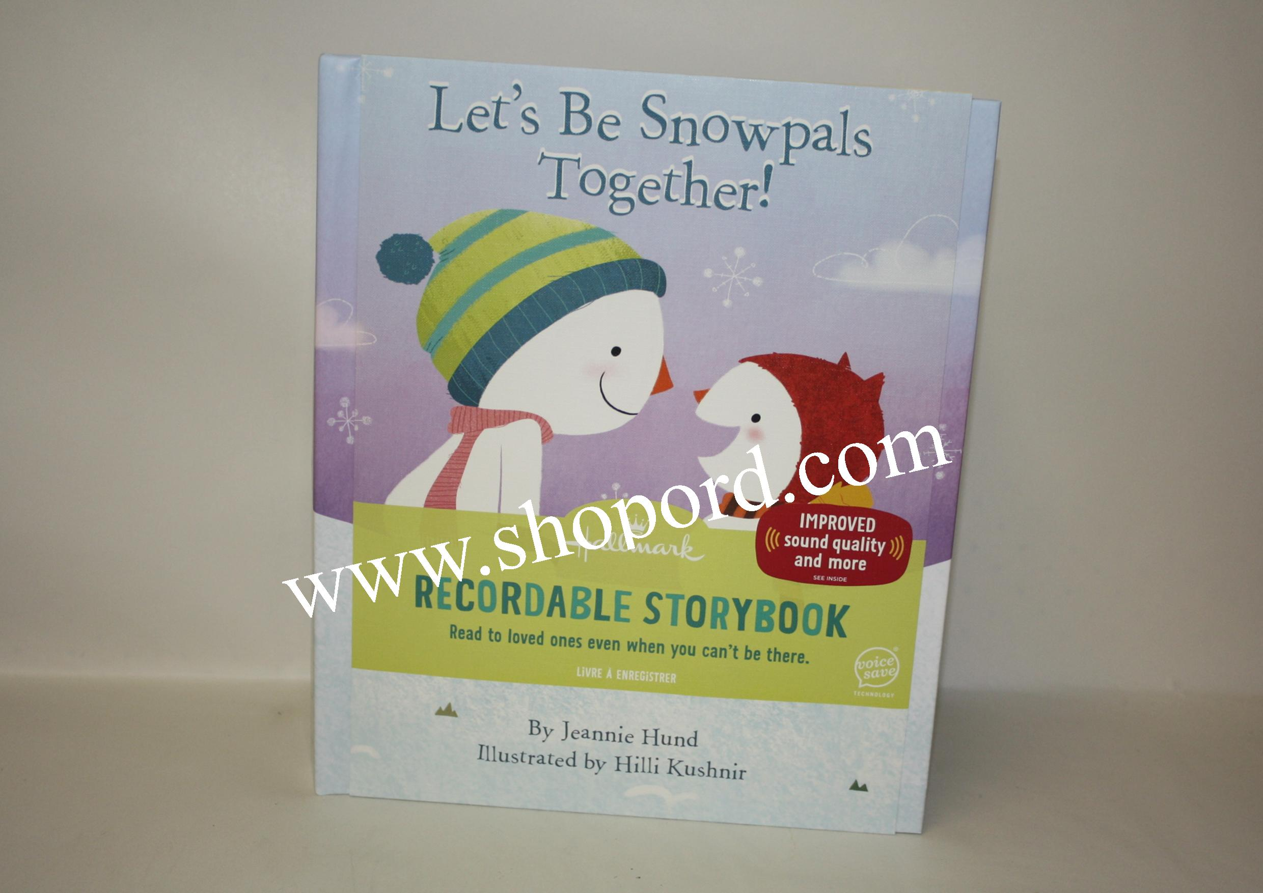 Hallmark Lets Be Snowpals Together Recordable Storybook KOB7781