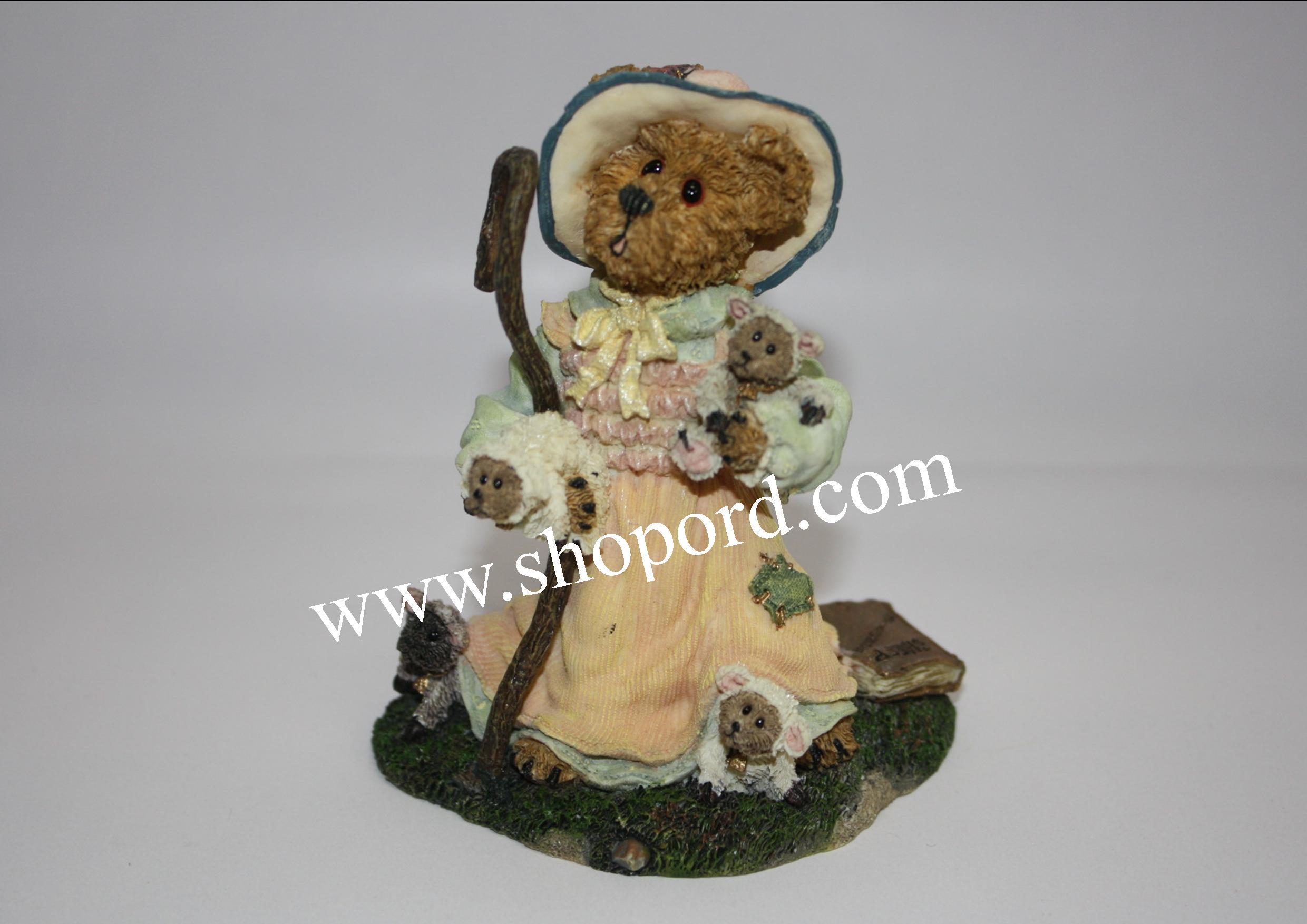 Boyds Bears - Lil Bear Peep (Got Sheep) #2453