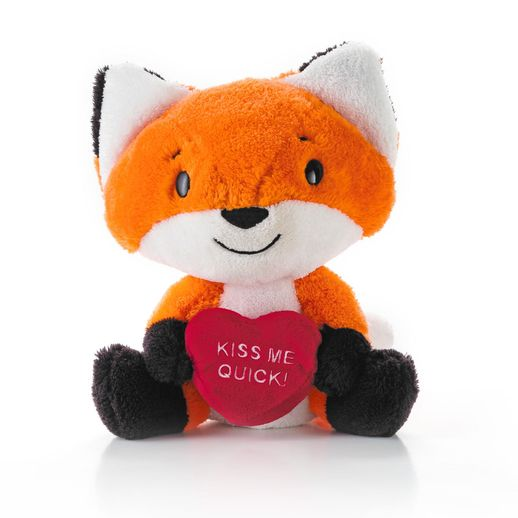 Hallmark Lovable Fox Plush Animal VTD1539