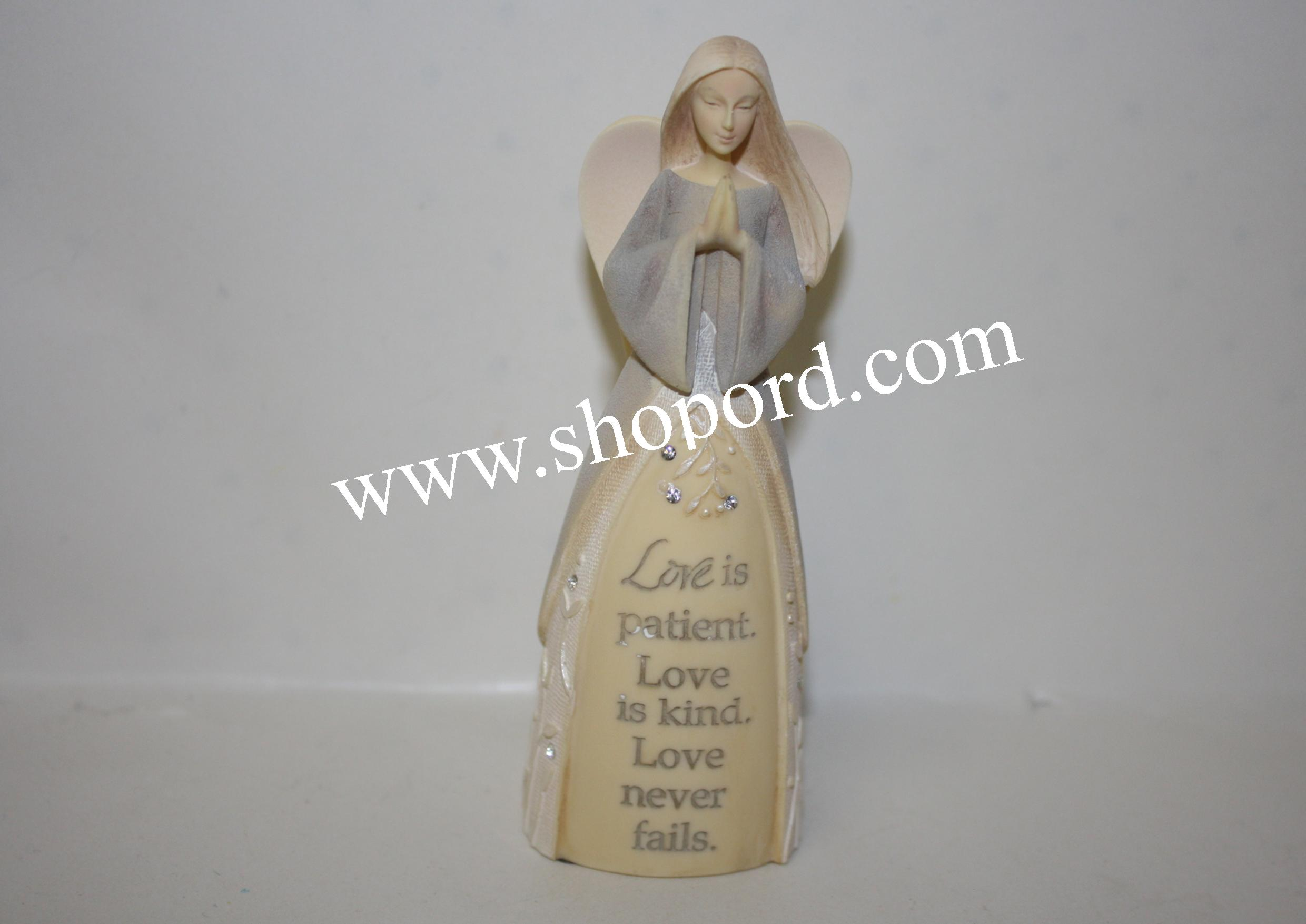 Enesco Foundation Angel Love Prayer Mini Figurine 4051328