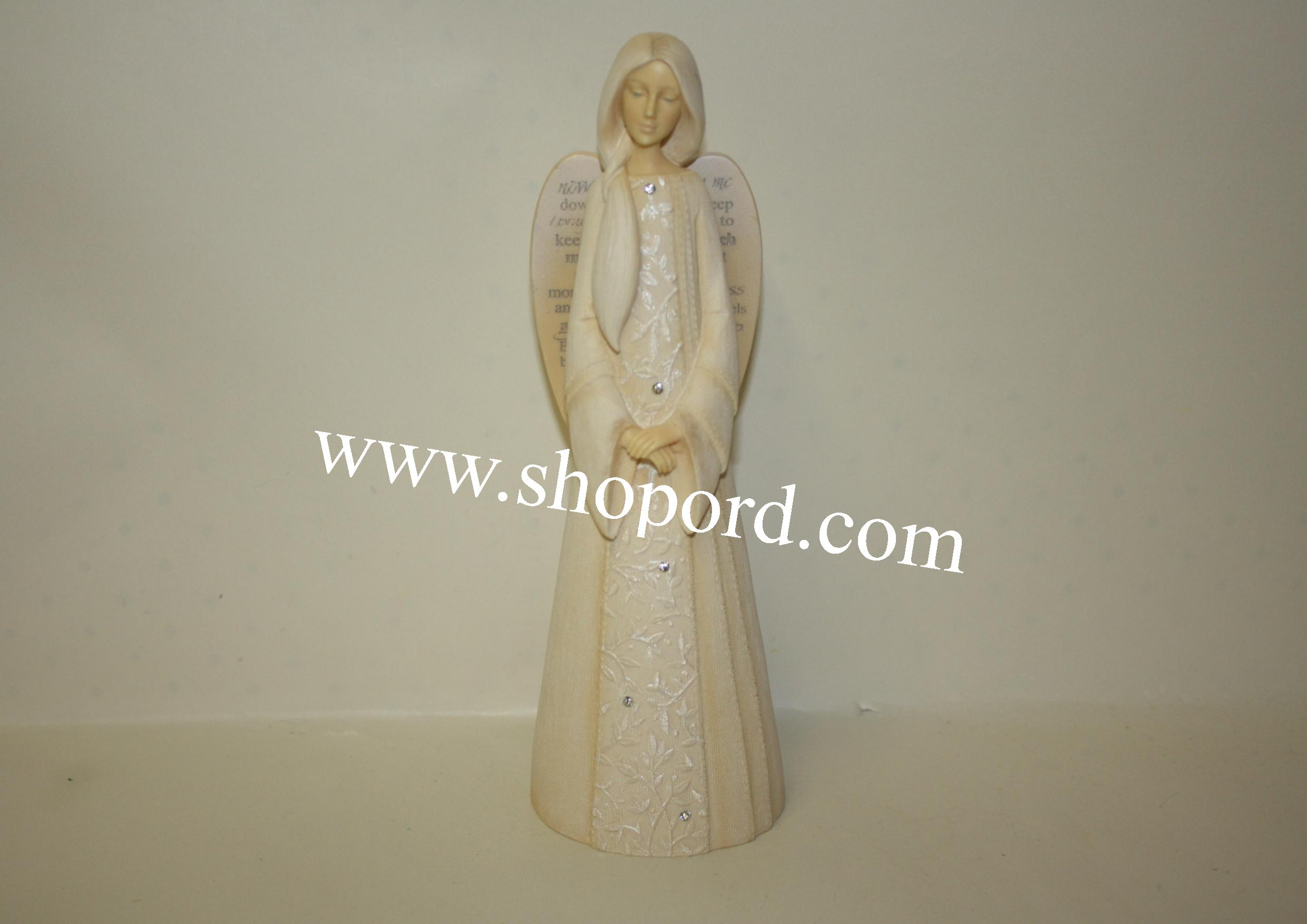 Enesco Foundations Lullaby Angel  Figurine 4053538