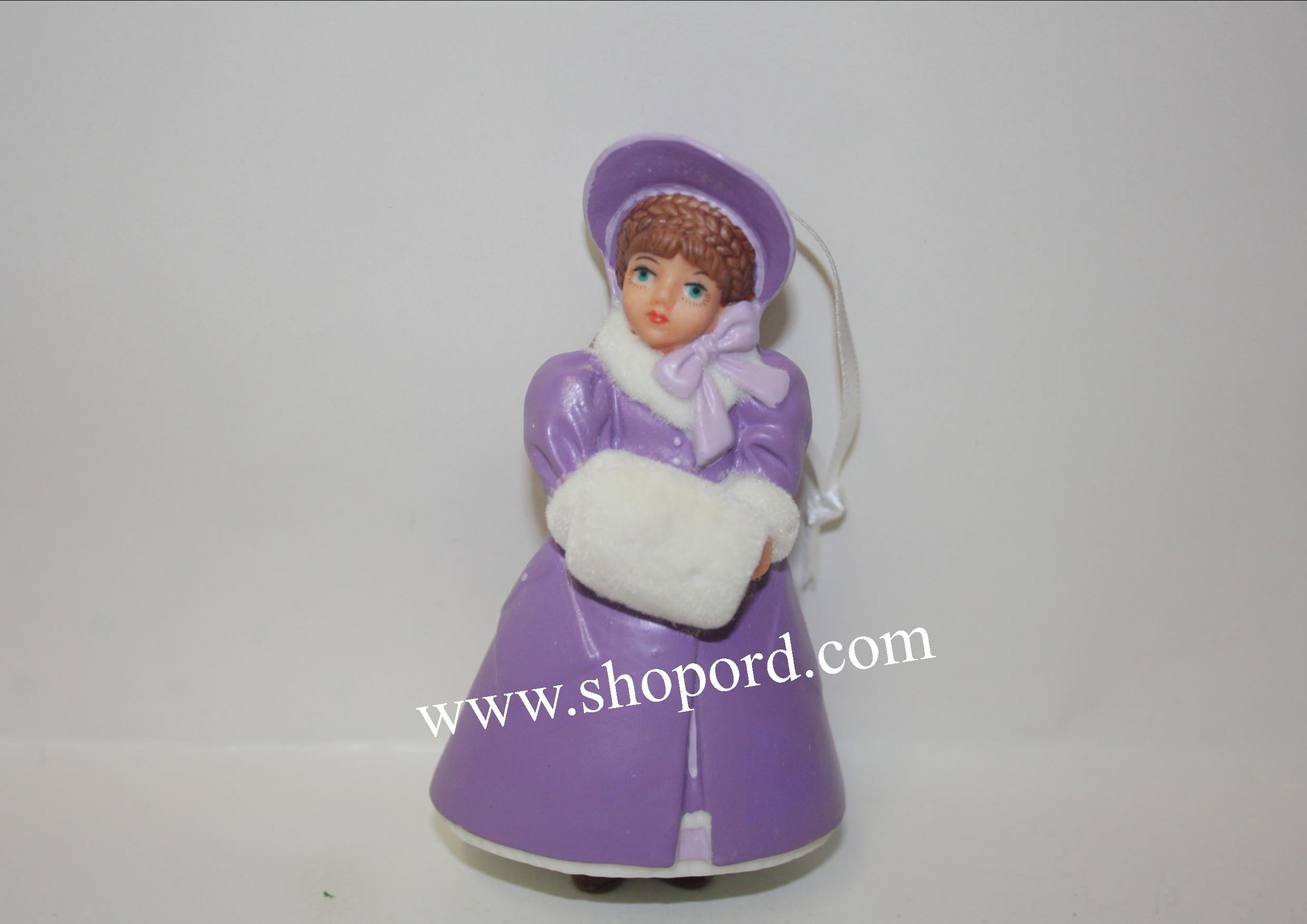 Hallmark 2001 Margaret Meg March Ornament Madame Alexander Little Women 1st In The Series QX6315