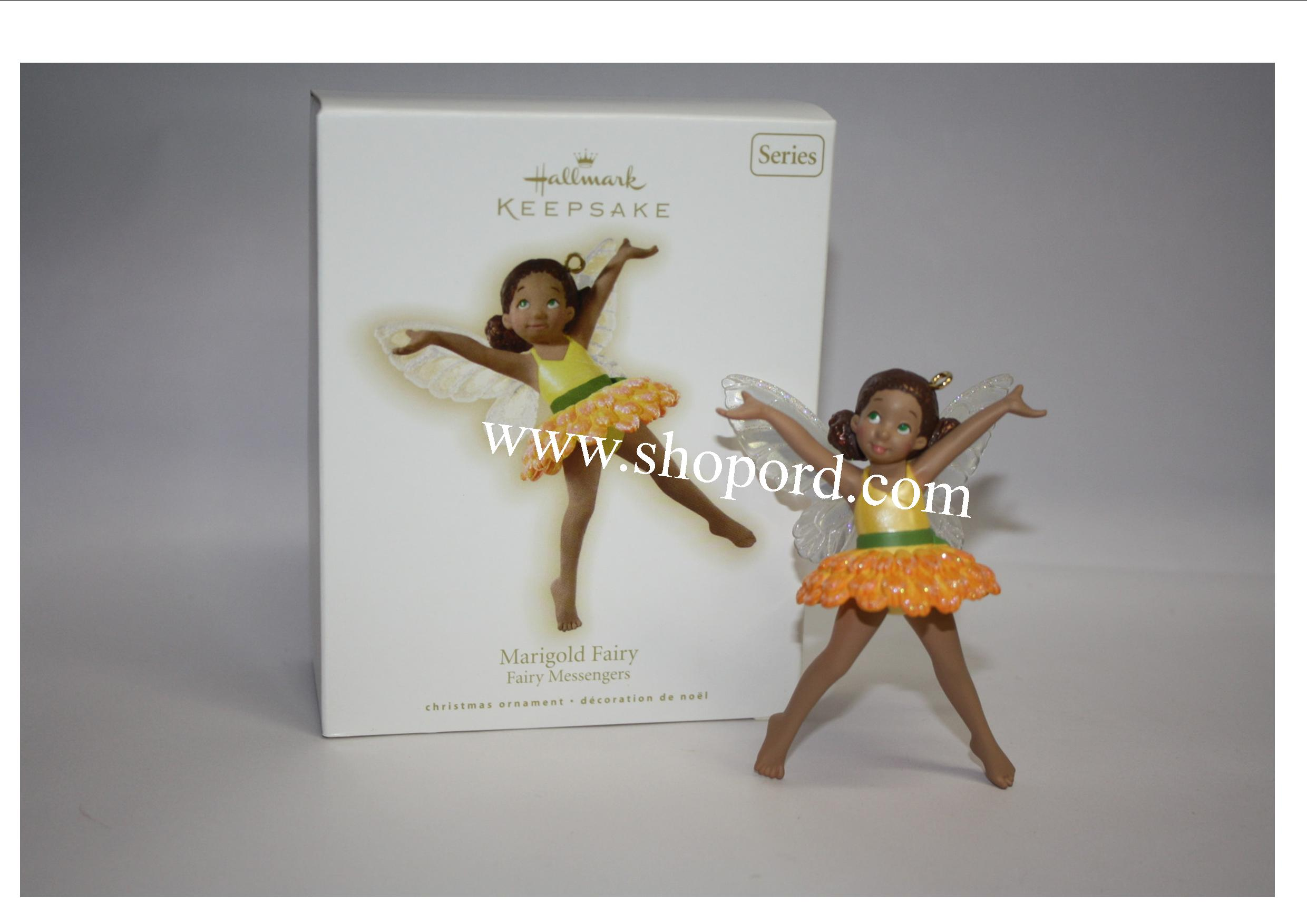 Hallmark 2009 Marigold Fairy Ornament Fairy Messengers 5th in the series QX8122