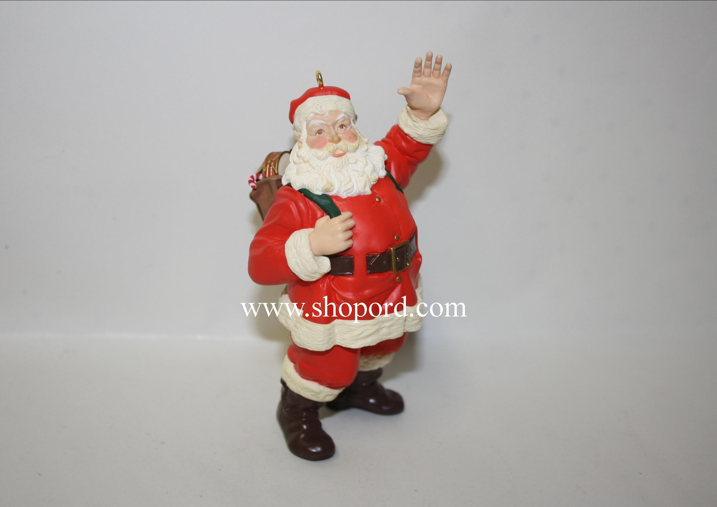 Hallmark 1999 Merry Olde Santa Ornament 10th and Final In The Series QX6359