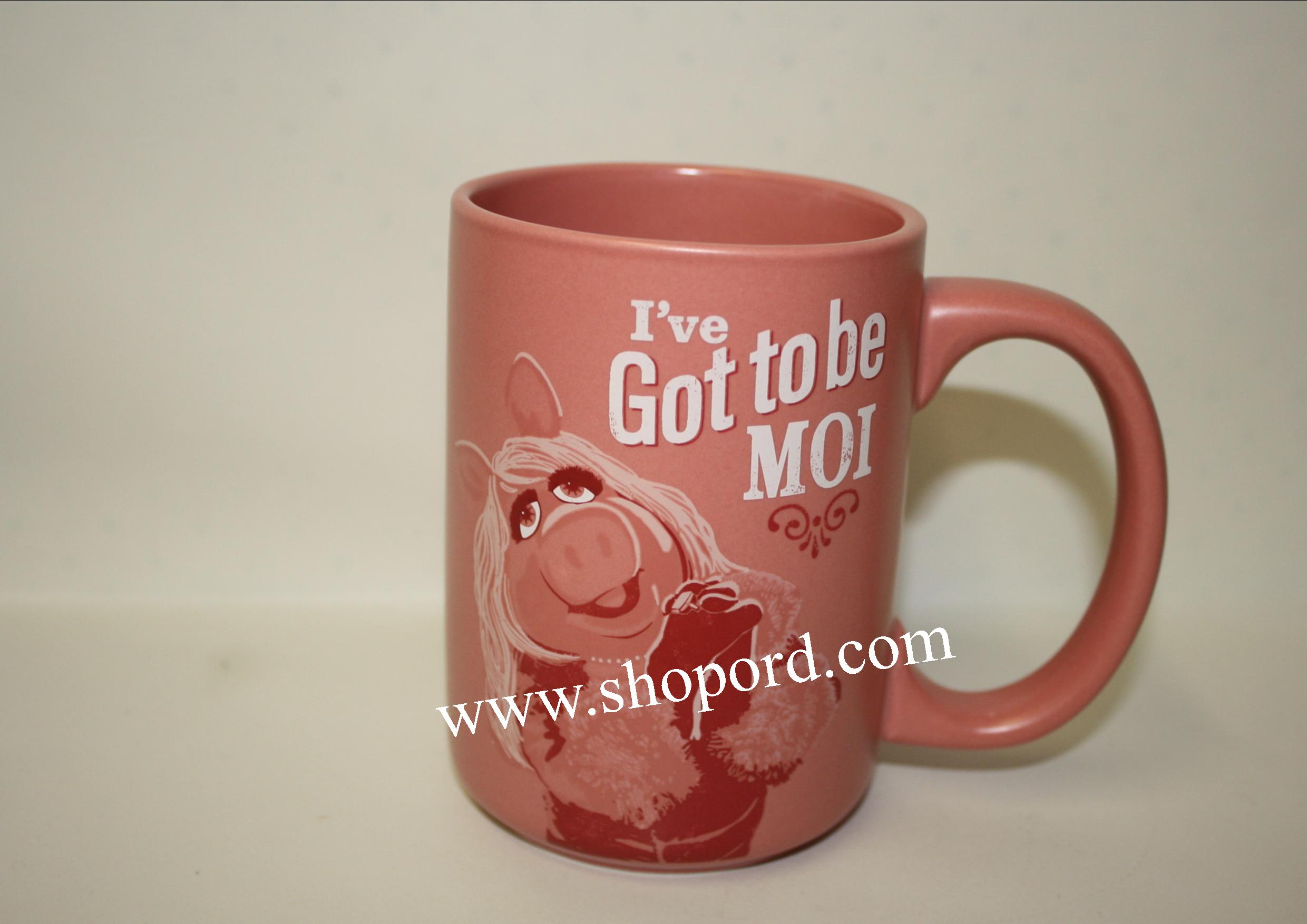 Hallmark Missy Piggy I've Got To Be MOI Mug The Muppets MUP5011
