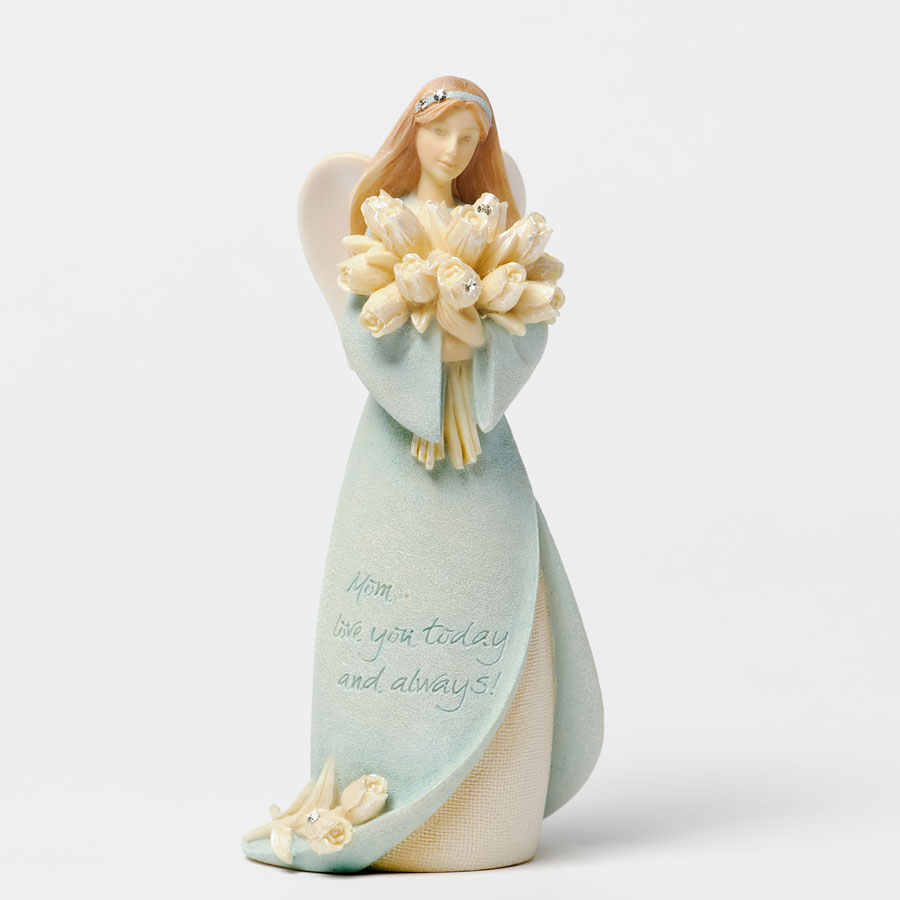 Enesco Foundations Mom Mini Angel Figurine 4032462