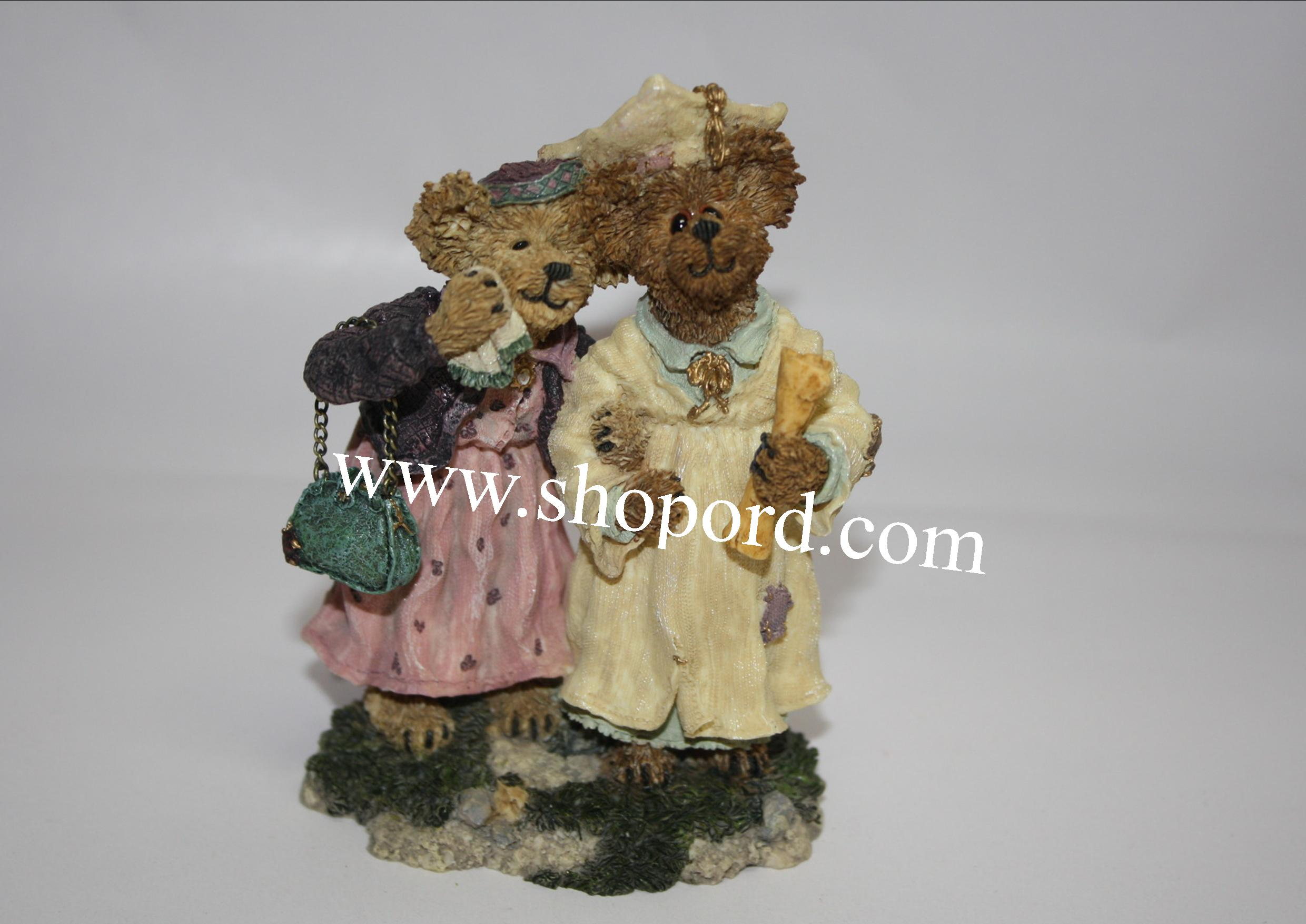 Boyds The Bearstone Collection - Momma Berriproud with Jamie (Seize the Day) #227755
