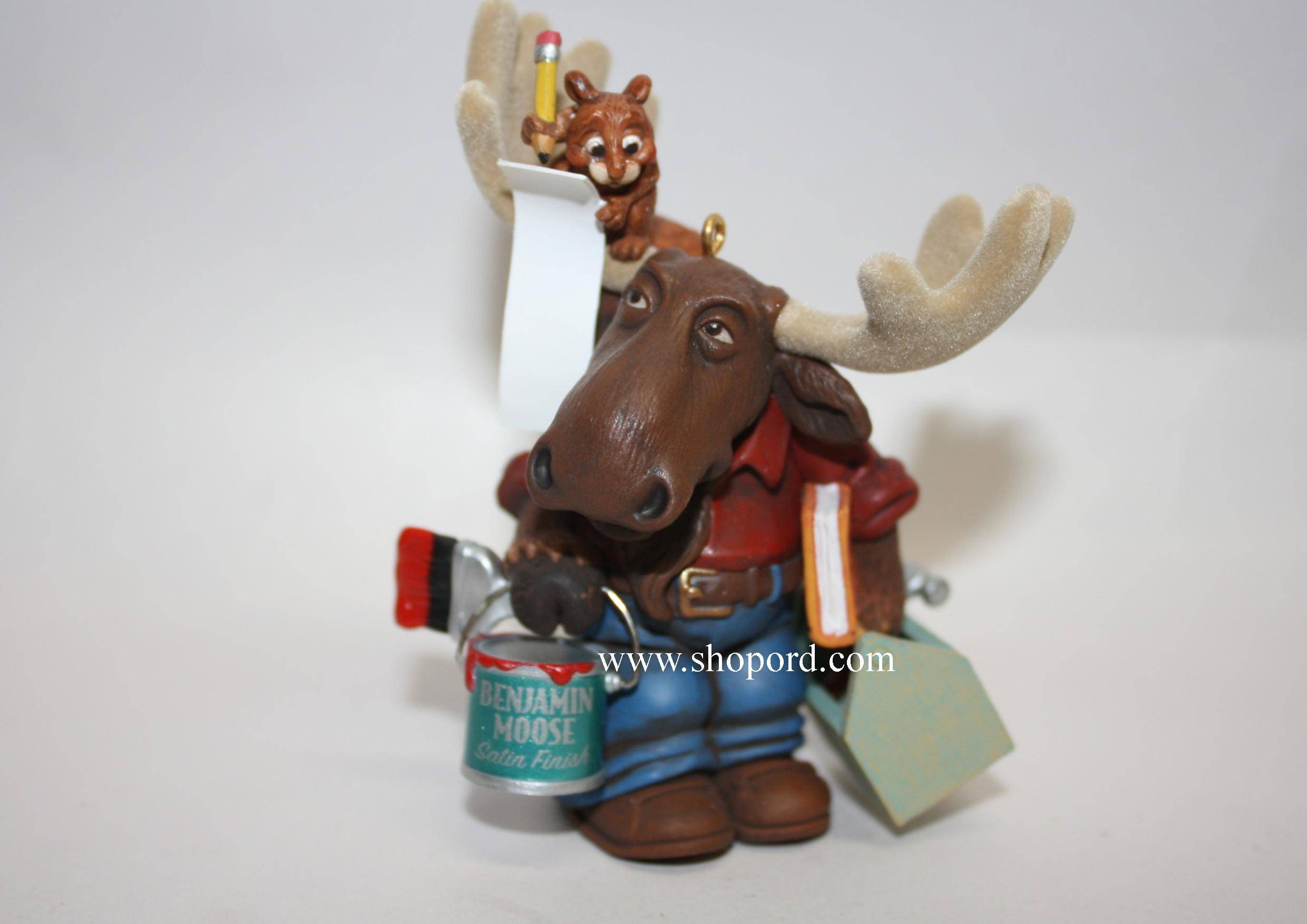 Hallmark 2005 Mooster Fix It Ornament QXG4272 No Box