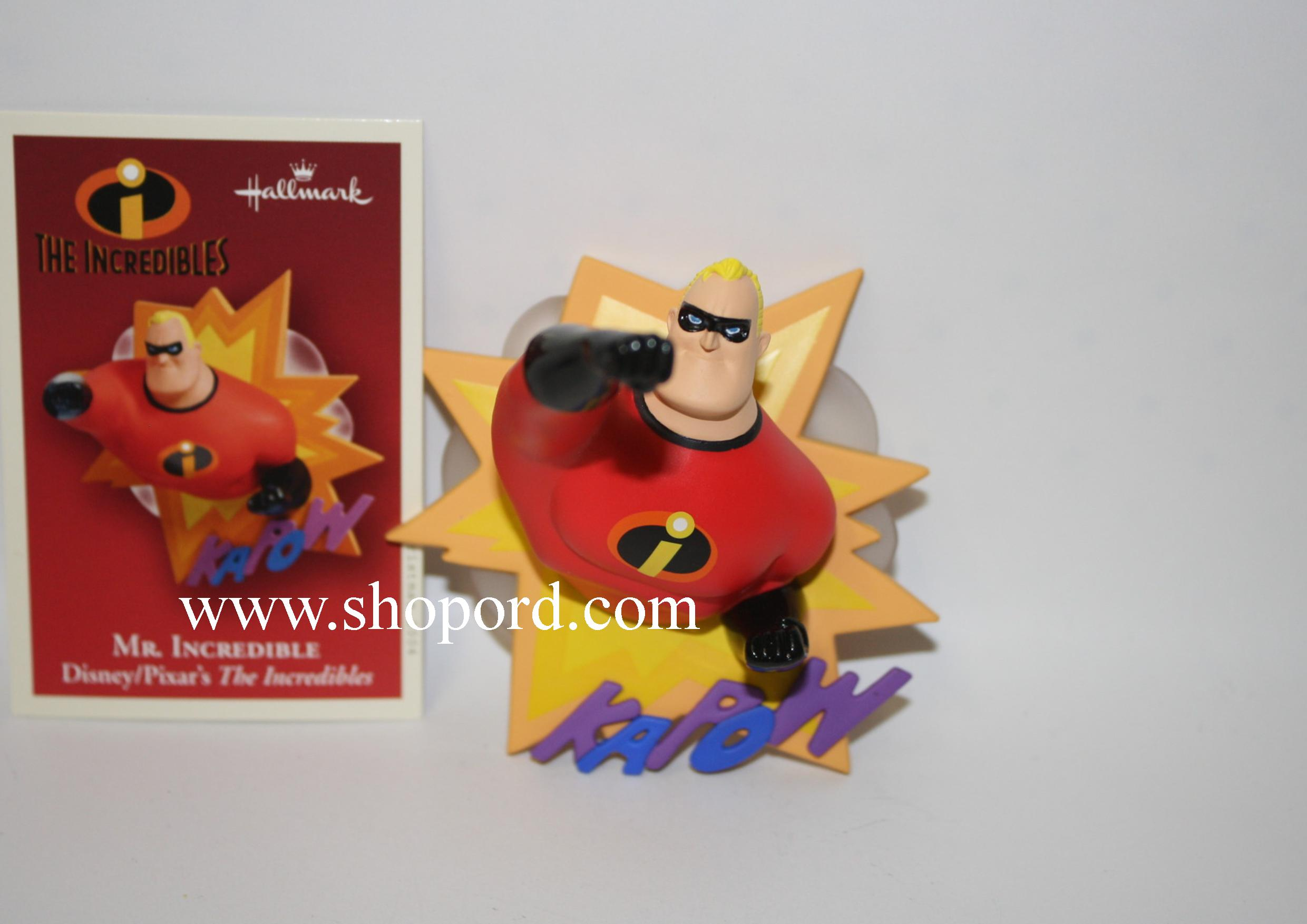 Hallmark 2004 Mr Incredible Ornament Disney Pixars The Incredibles QXD5081