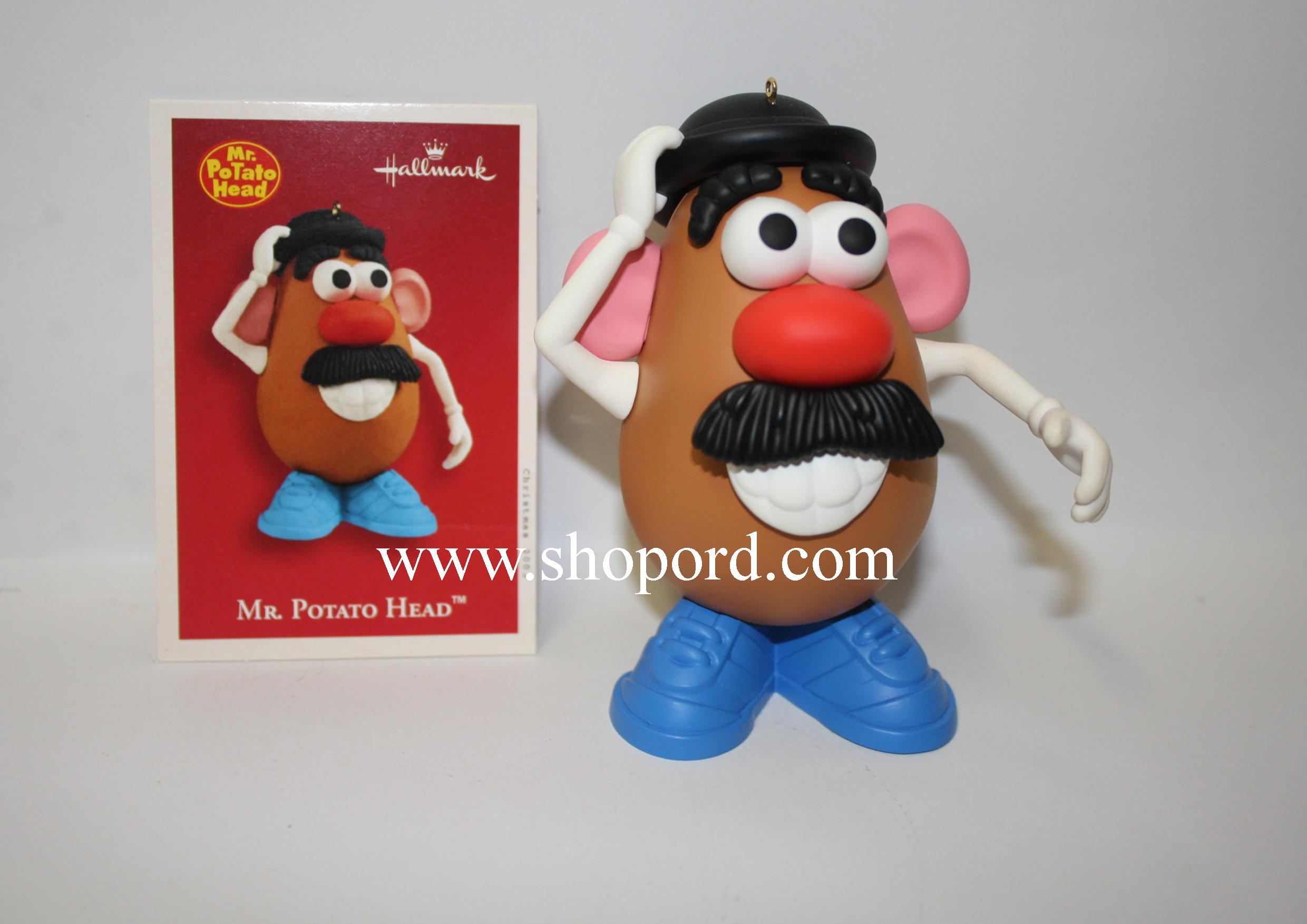 Hallmark 2003 Mr Potato Head Ornament QXI4277 Damaged Box