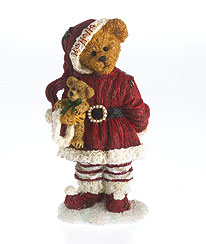 Boyds Bear - Nikki Goodfriend with Lil Holly Deck the Halls 4034158