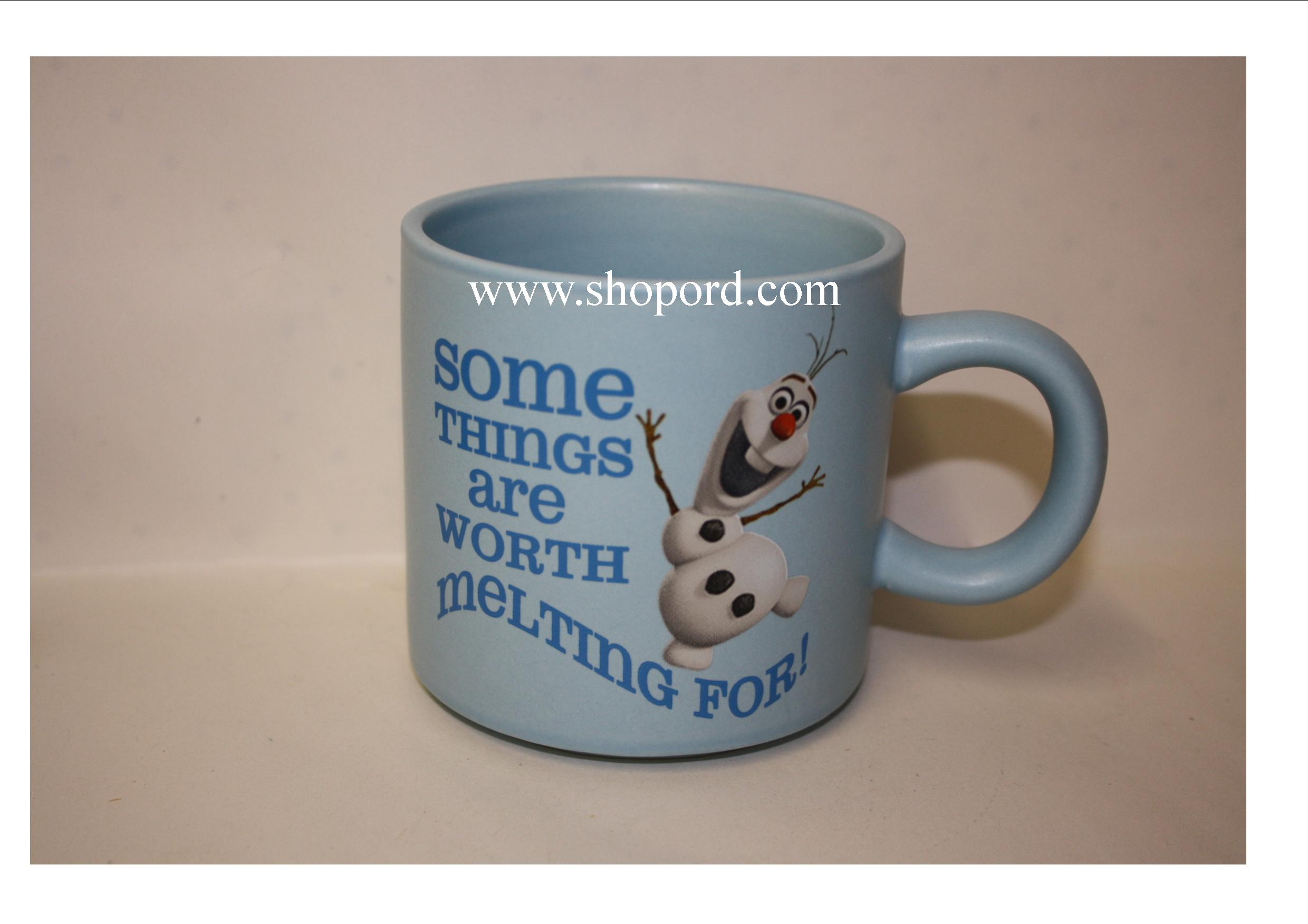 Hallmark Frozen Olaf Some Things Are Worth Melting For Mug DYG9152