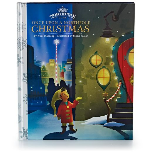 Hallmark Once Upon A Northpole Christmas Story Book MJJ1010