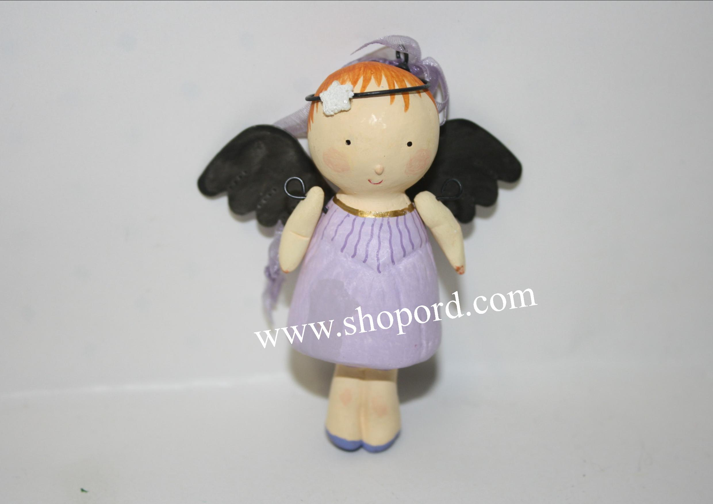 Hallmark 2001 One Little Angel Ornament QX8935 Damaged Box