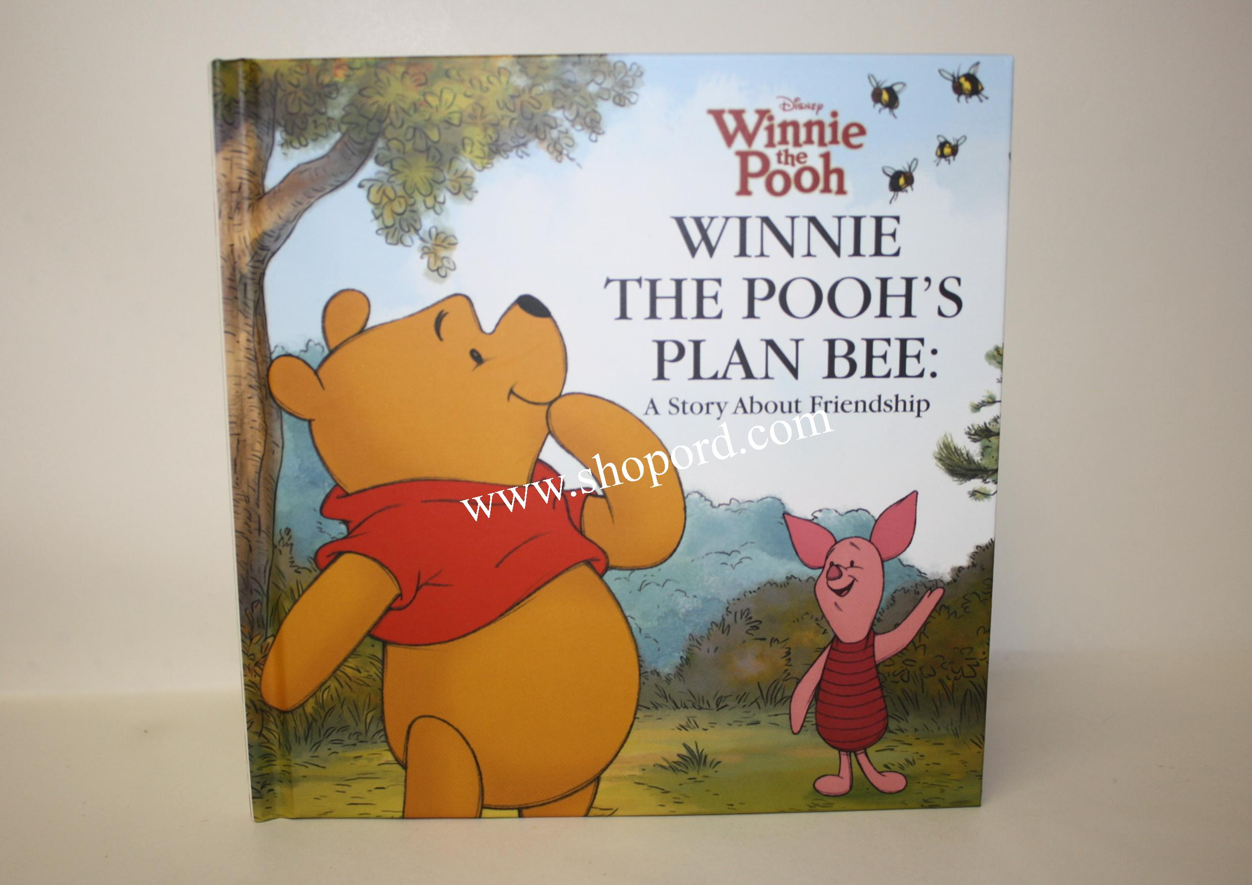 Hallmark Winnie The Poohs Plan Bee A Story About Friendship Hardcover Book VTD1576