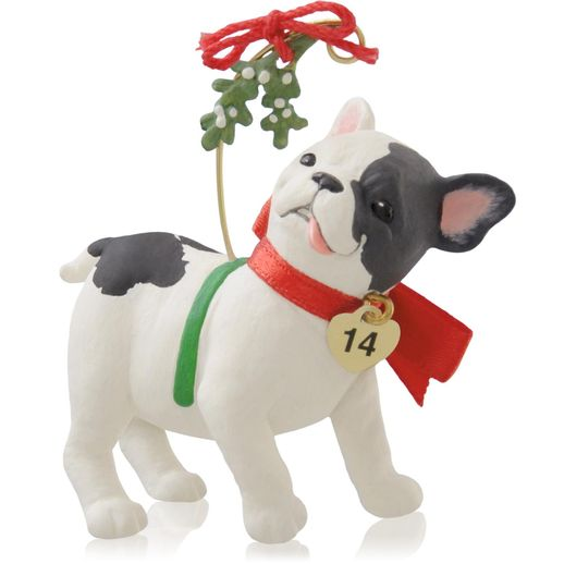 Hallmark 2014 Puppy Love Ornament 24th in the series QX9086