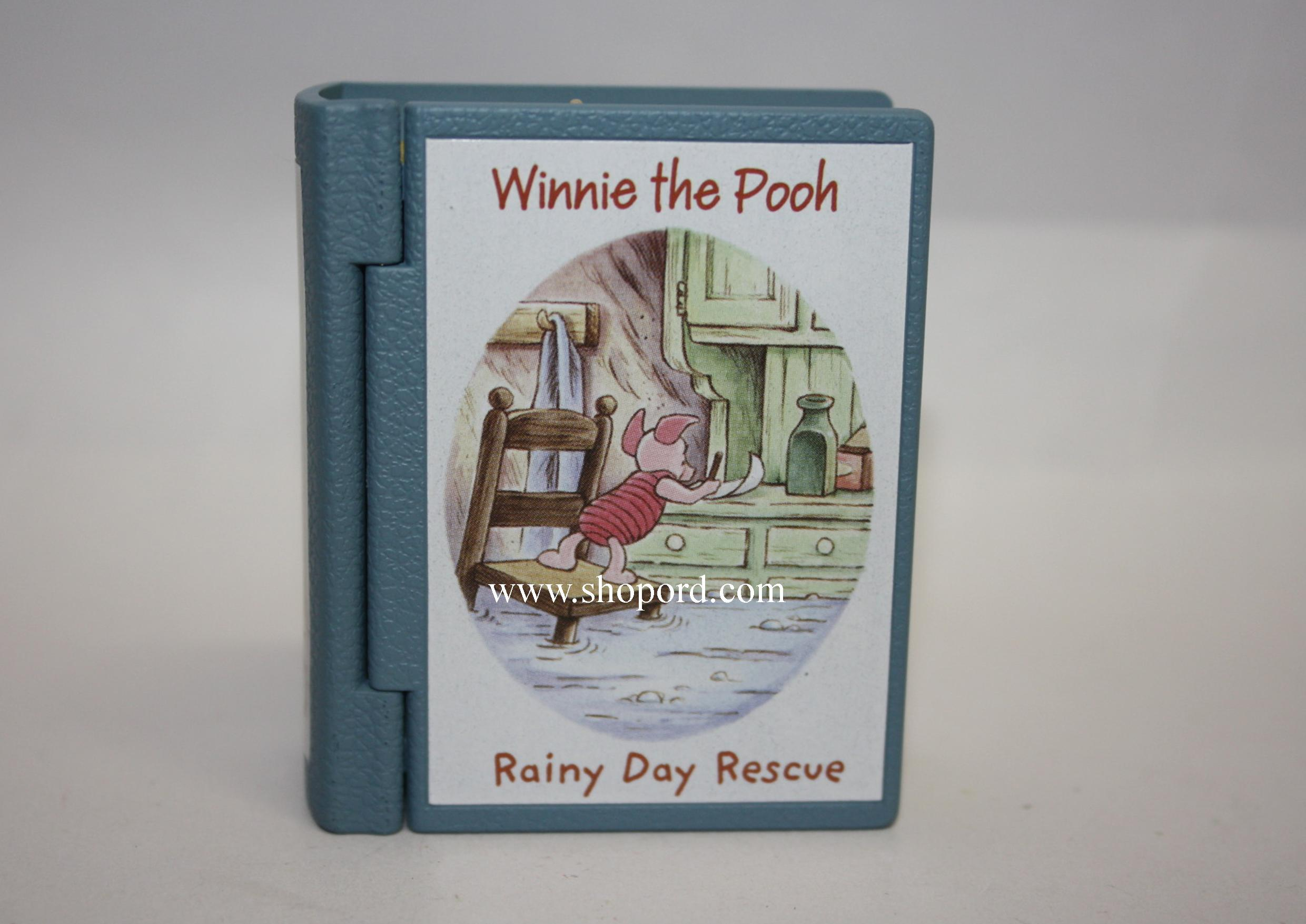 Hallmark 2005 Rainy Day Rescue Ornament 8th in the Winnie The Pooh series QXD4102