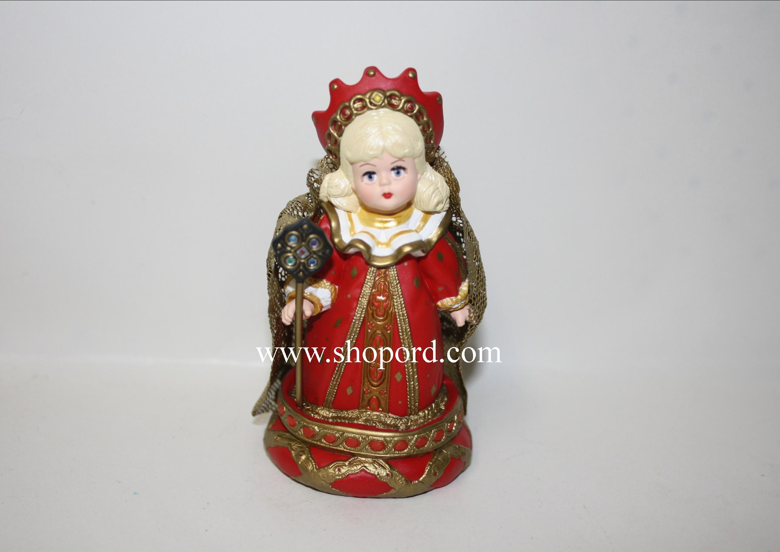 Hallmark 1999 Red Queen Alice In Wonderland Ornament 4th In The Madame Alexander Series QX6379