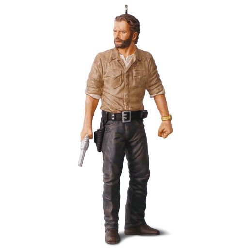 Hallmark 2016 Rick Grimes Ornament AMC The Walking Dead QXI3144