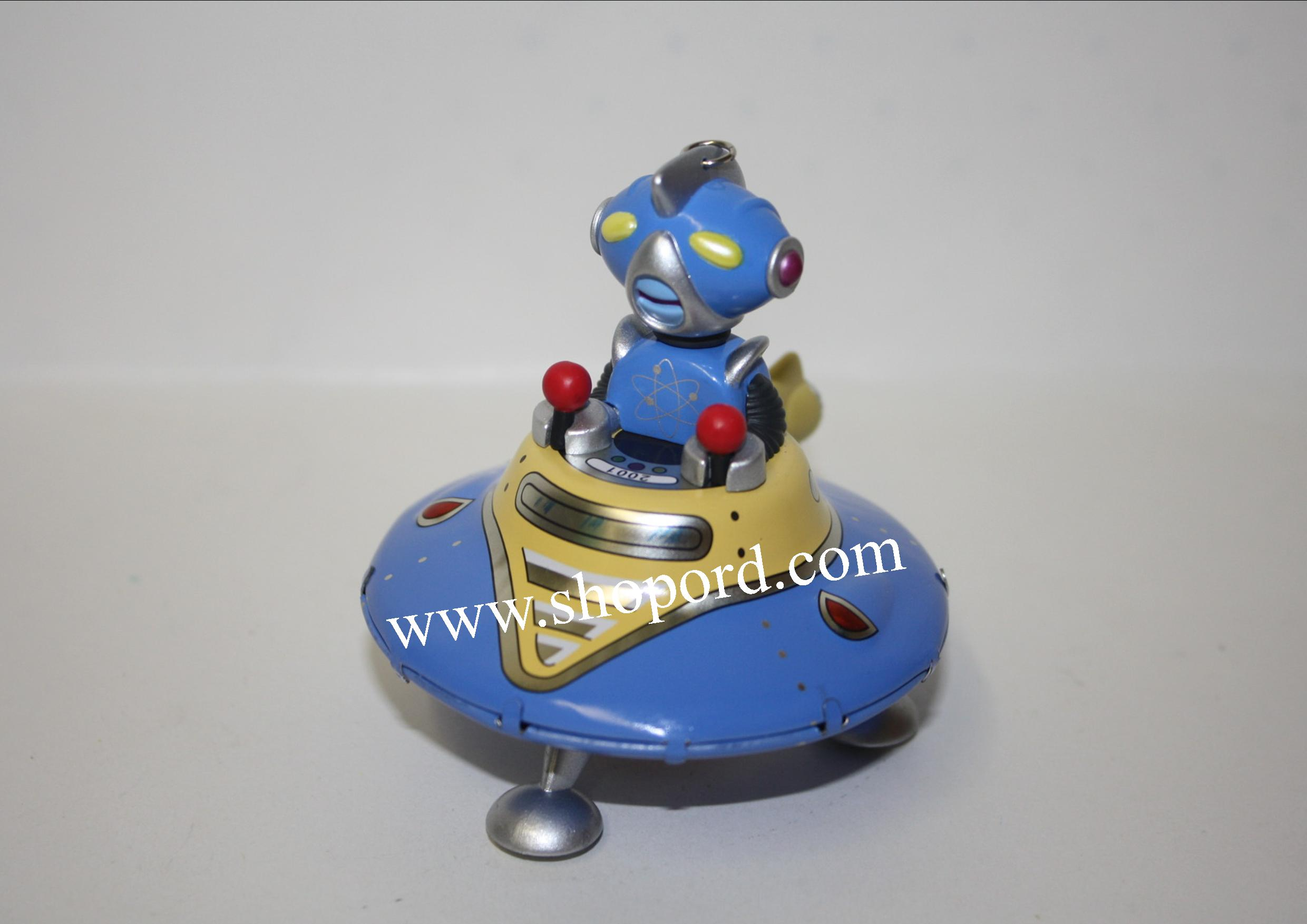 Hallmark 2001 Robot Parade Ornament 2nd In The Series QX8162 Damaged Box
