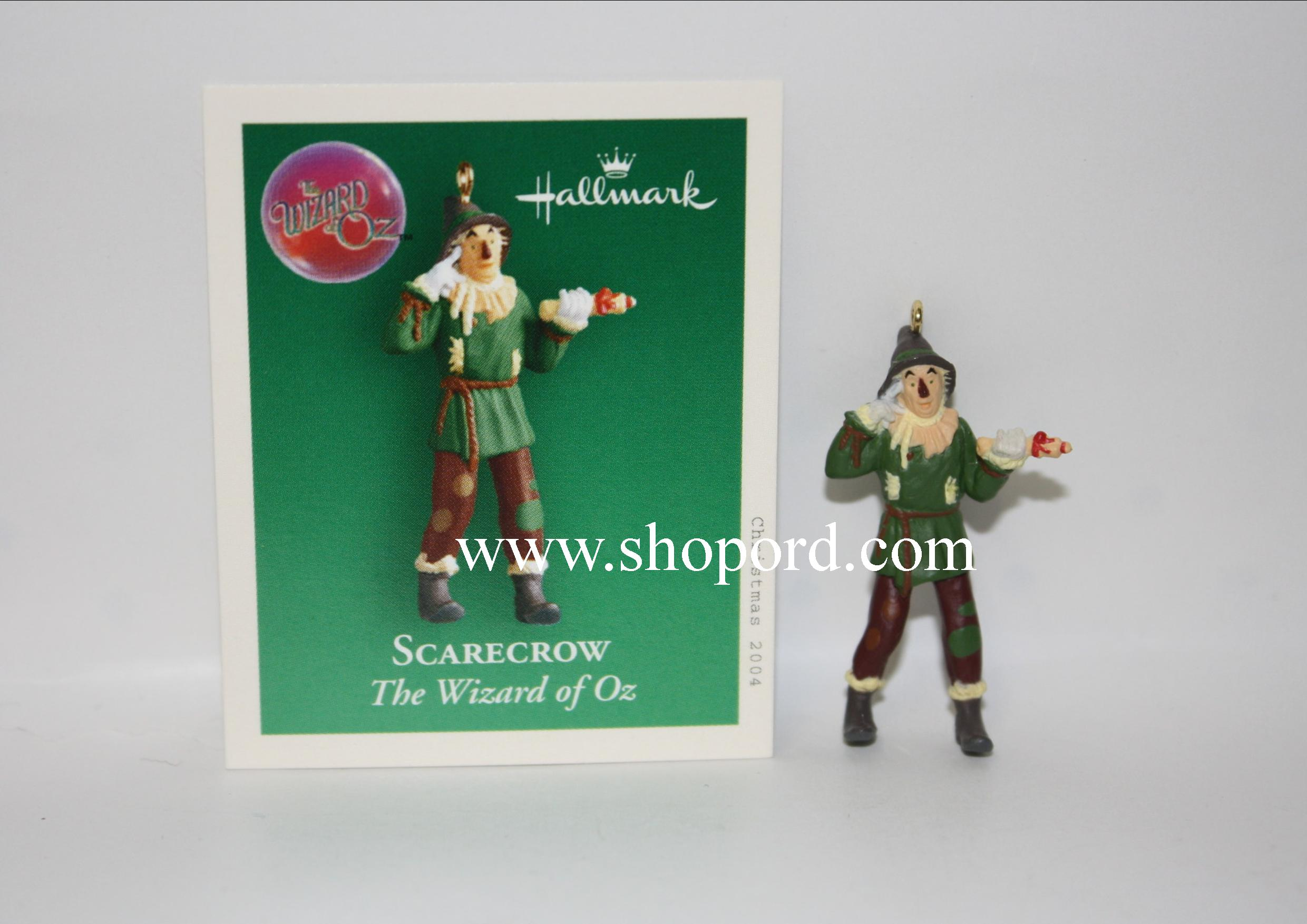 Hallmark 2004 Scarecrow The Wizard of Oz Miniature Ornament QXM5091