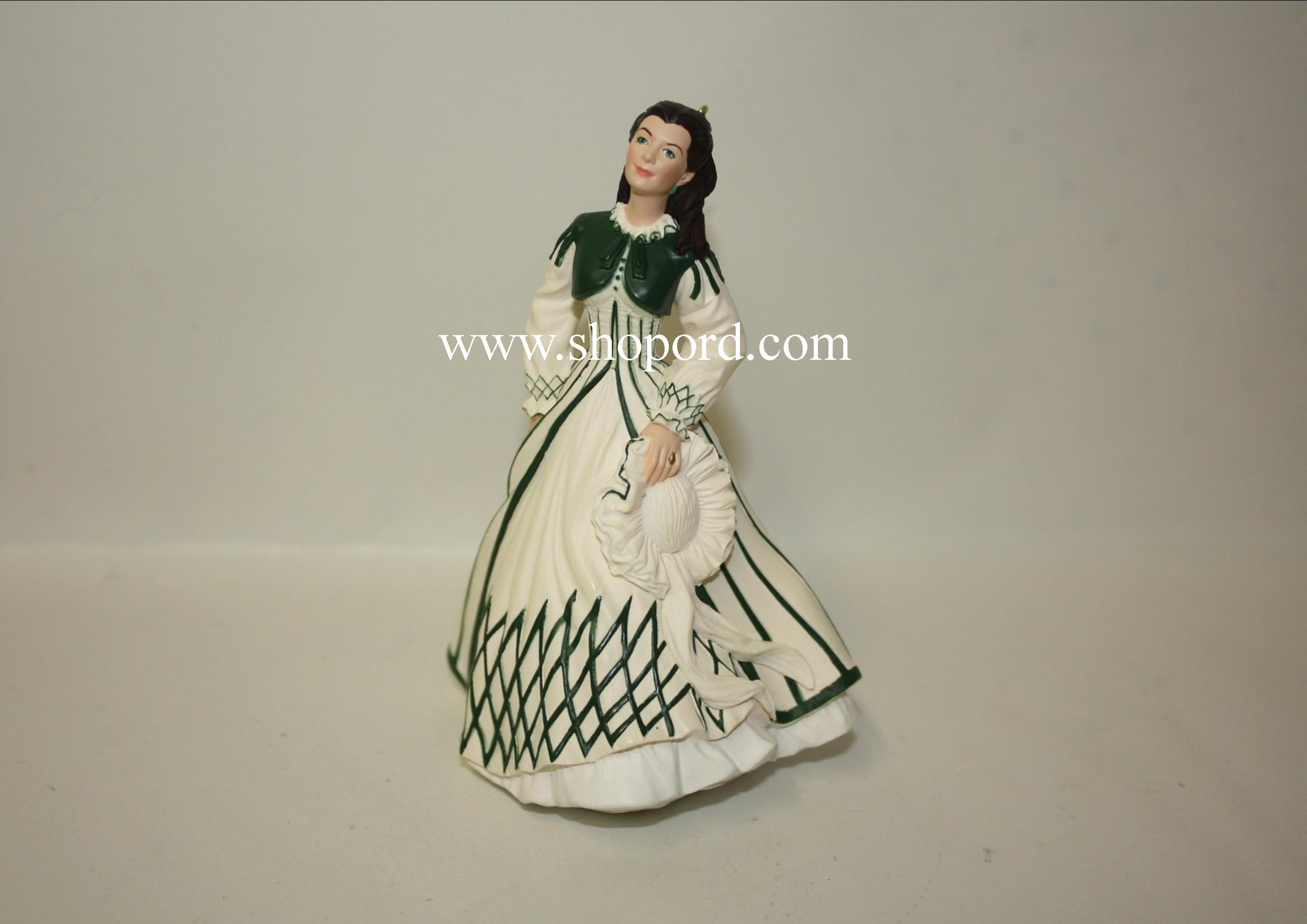 Hallmark 1999 Scarlett O Hara Gone With The Wind Ornament 3rd In The Series QX6397