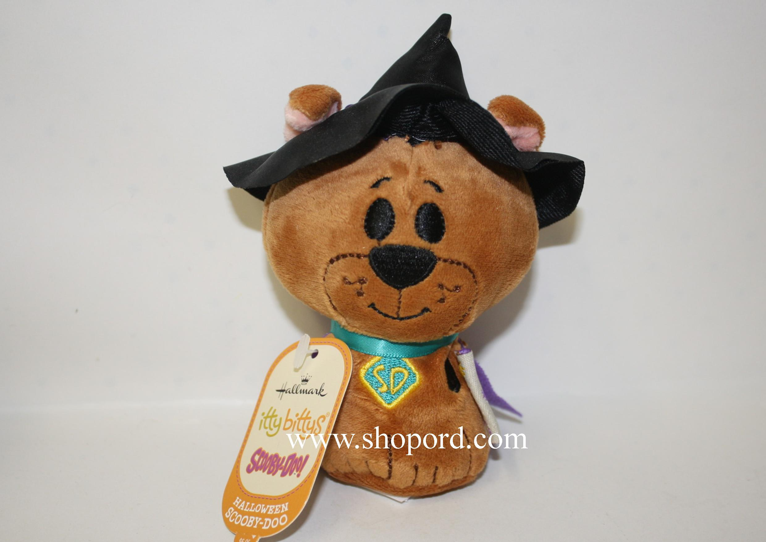 Hallmark Itty Bitty Halloween Scooby Doo Plush KID3376
