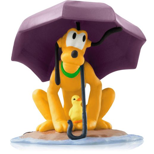 Hallmark 2014/2015 Shower Season Disney Pluto Ornament 9th in the monthly series QHA1030