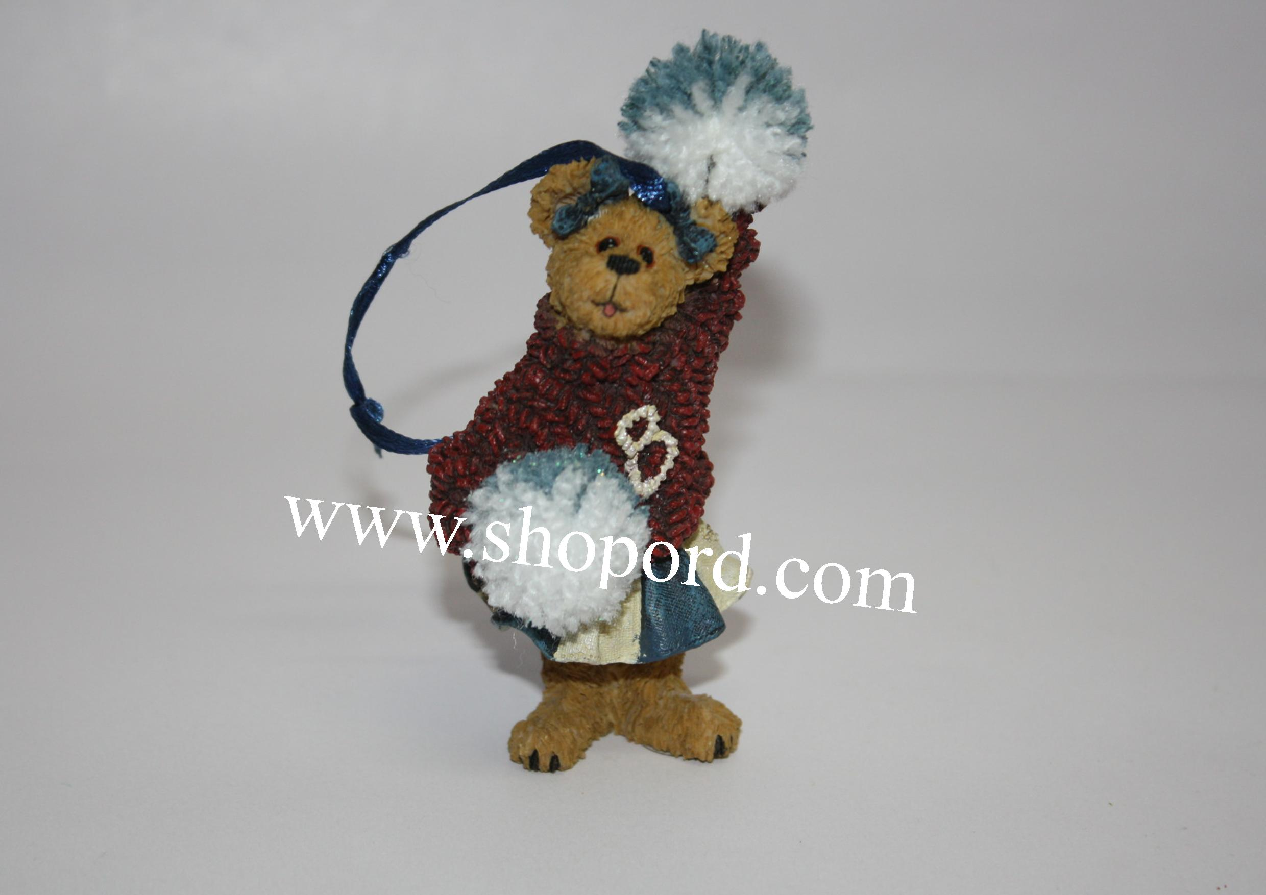 Boyds The Bearstone Collection - Sissy Boom Bah Ornament #257002