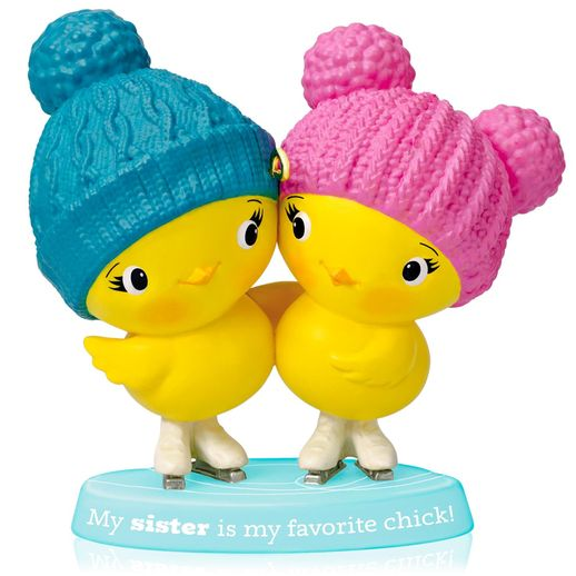 Hallmark 2014 Sister Chicks Ornament QGO1103