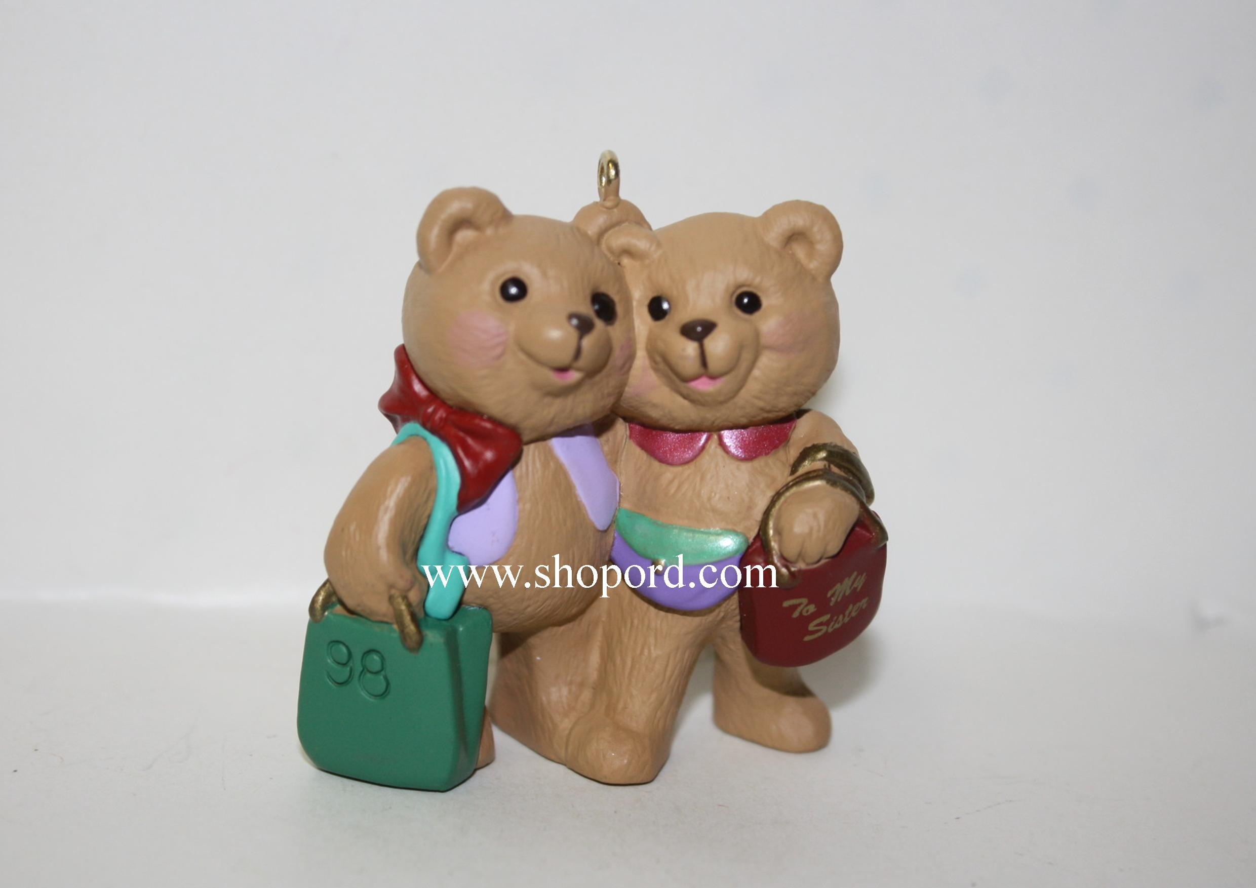 Hallmark 1998 Sister To Sister Ornament QX6693