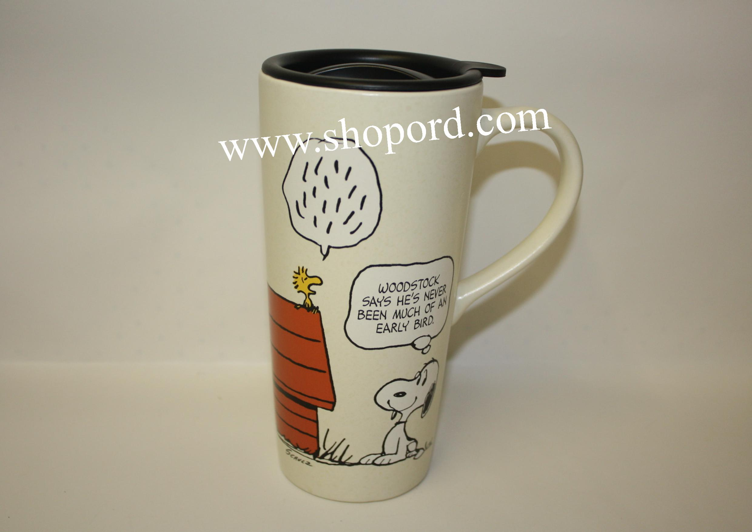 Hallmark Peanut Gang Snoopy 16 oz Travel Mug PAJ1107