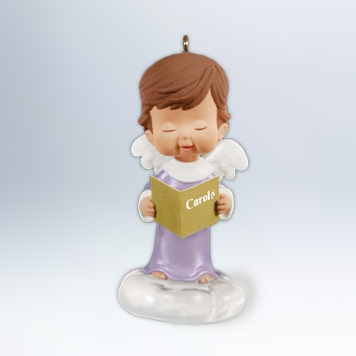 Hallmark 2012 Sterling Rose Ornament 25th in the Mary's Angels series QX8271