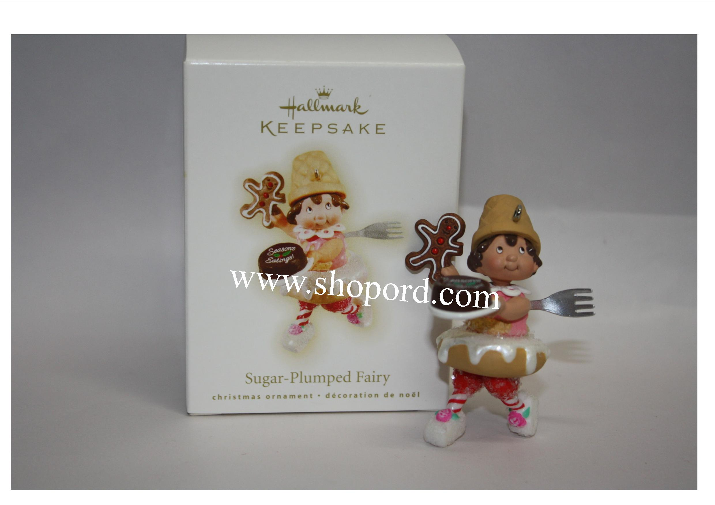 Hallmark 2009 Sugar Plumped Fairy Ornament QXG6705