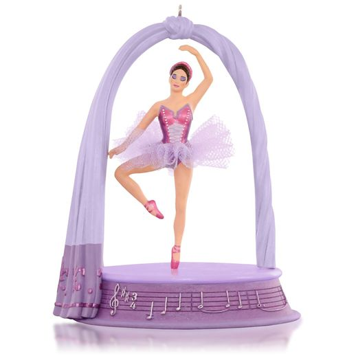 Hallmark 2015 Sugarplum Dreams Ornament Nutcracker Ballerina QGO1379